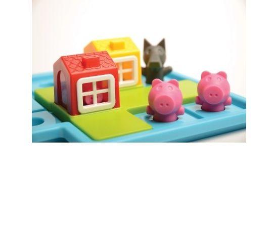 Les Trois Petits Cochons Défis Logiques