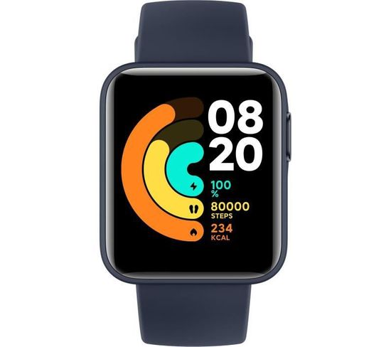 "Montre Connectée Mi Watch Lite Ecran Tft 1,4"" 320x320 Pixels Bleu Marin"