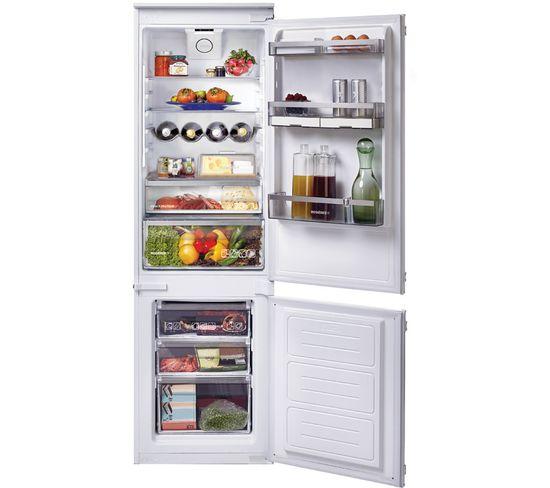 Réfrigérateur congélateur encastrable 177cm froid brassé - Rbbs172n