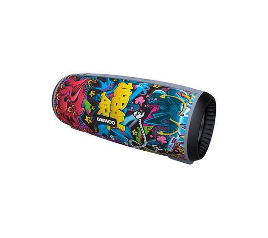 Enceinte Bluetooth Dbt-10 12 W Stéréo Multicolore