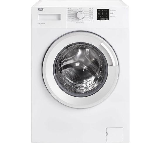 Lave-linge Frontal 60 cm 6kg 1000t Blanc - Wts61003