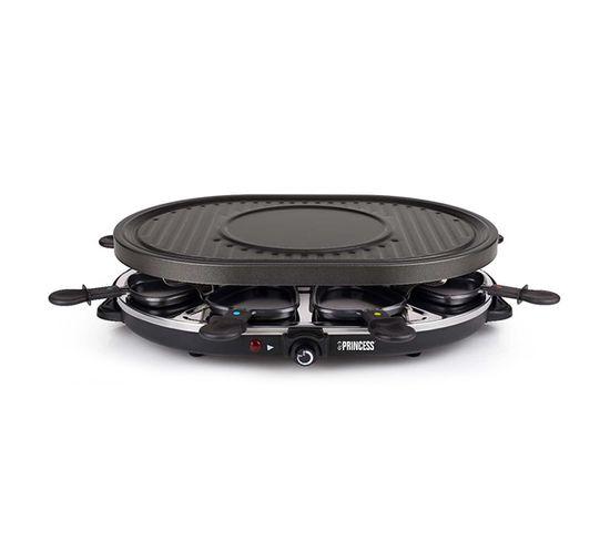 Appareil À Raclette 8 Personnes 1200w + Gril - 162700-01-001