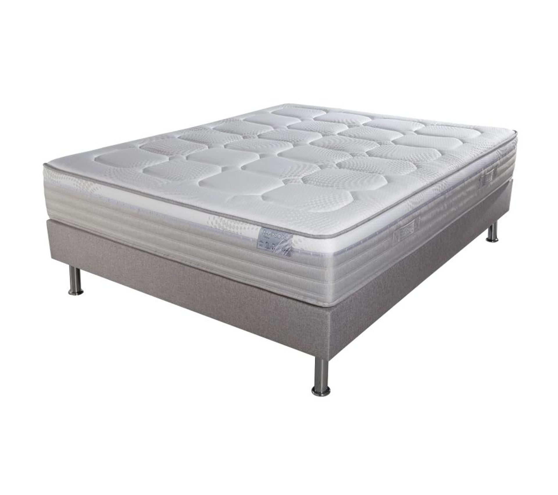 Ensemble Matelas Sommier Rhapsodie 120x190 Ensemble Literie But