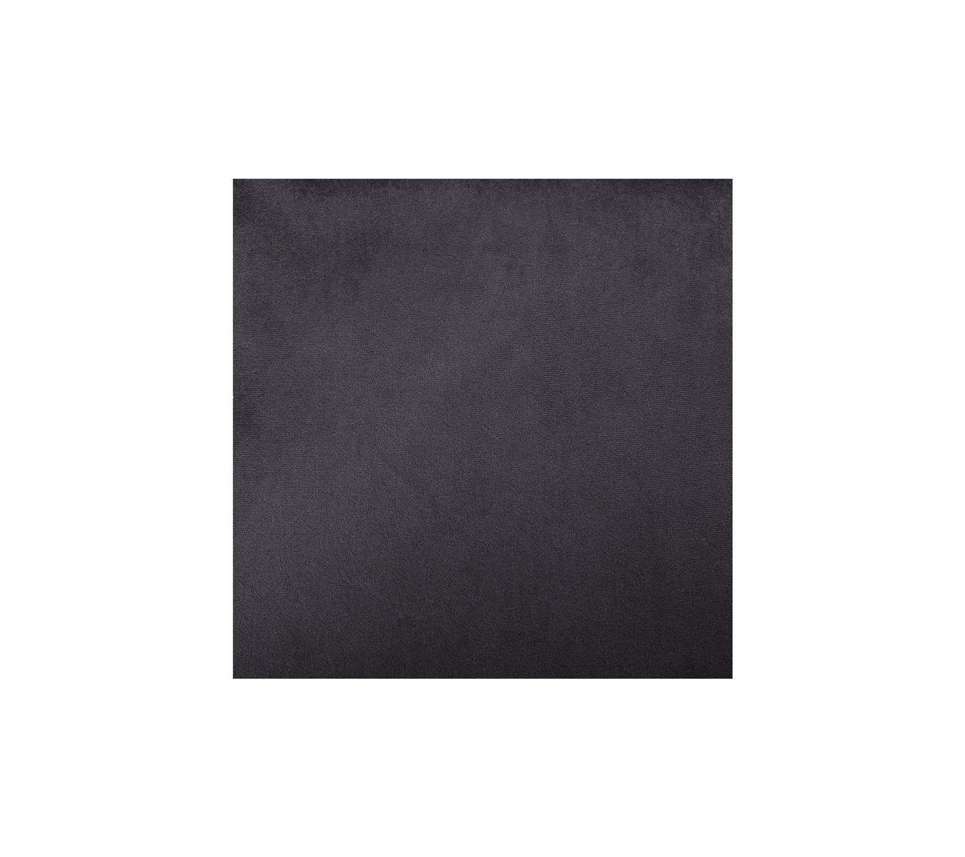 Joseph Fauteuil Pieds Bois Velours Noir L 64 X P 71 X H 93 Cm