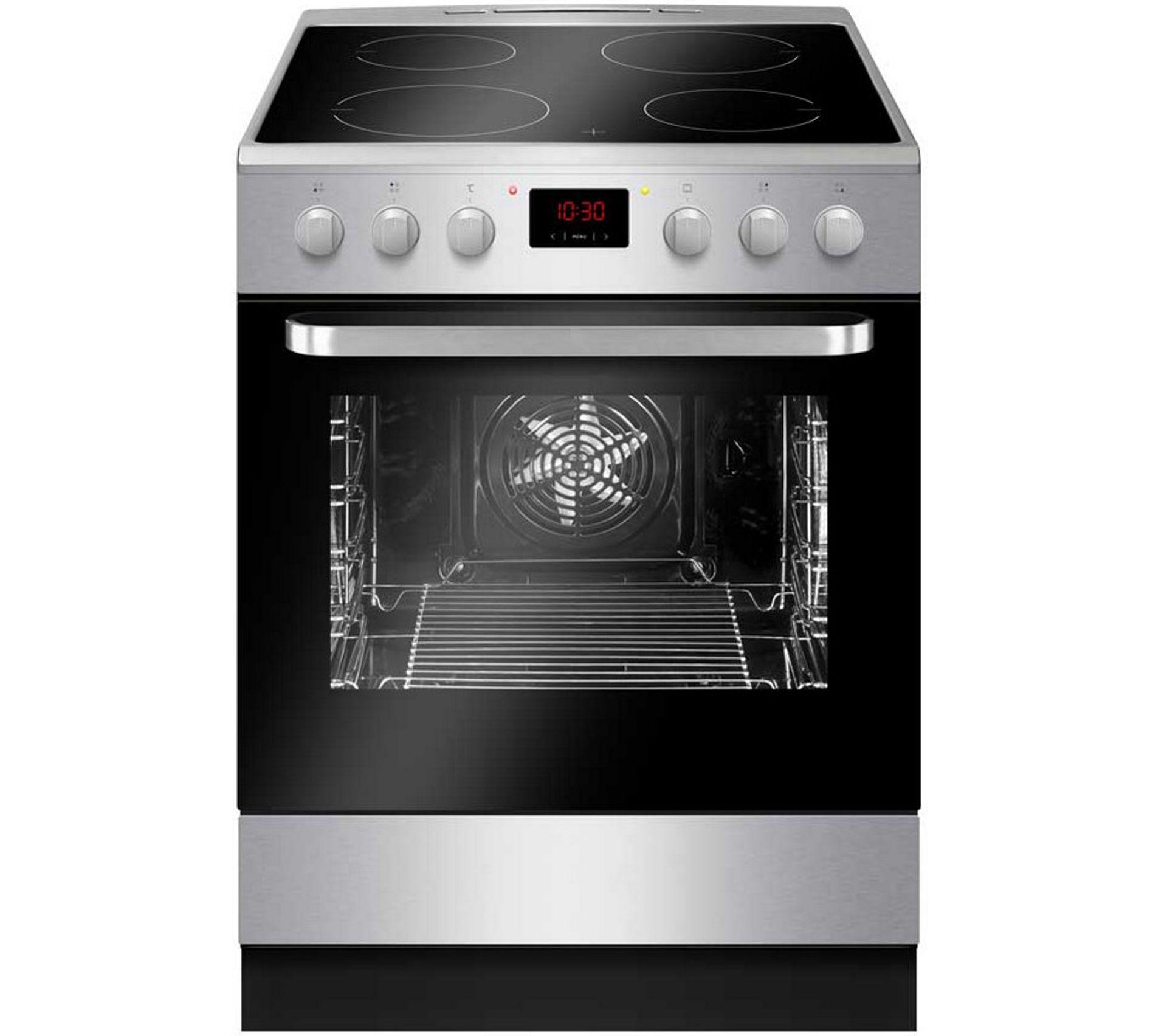 Produit Pour Nettoyer Vitroceramique cuisinière vitrocéramique 4 foyers nettoyage catalyse inox acv 3504 x