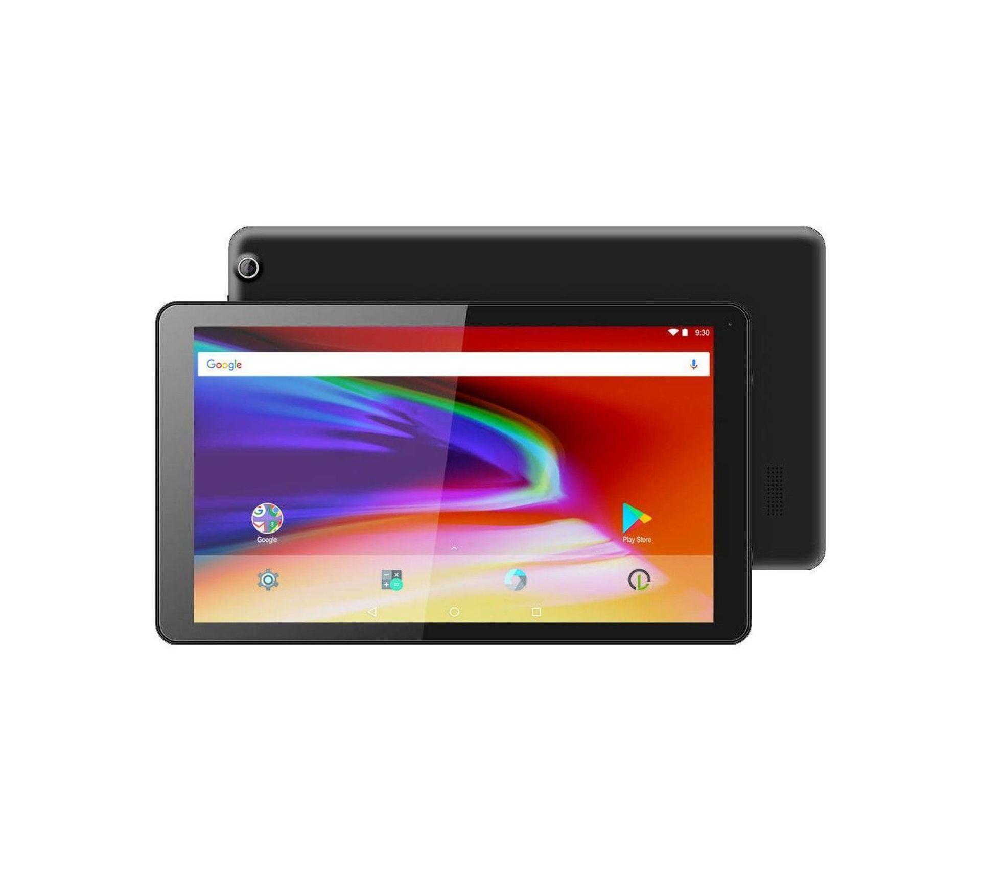 logicom la tab 105 tablette tactile cran 10 1 pouces 32 go android 7 0 nougat noire