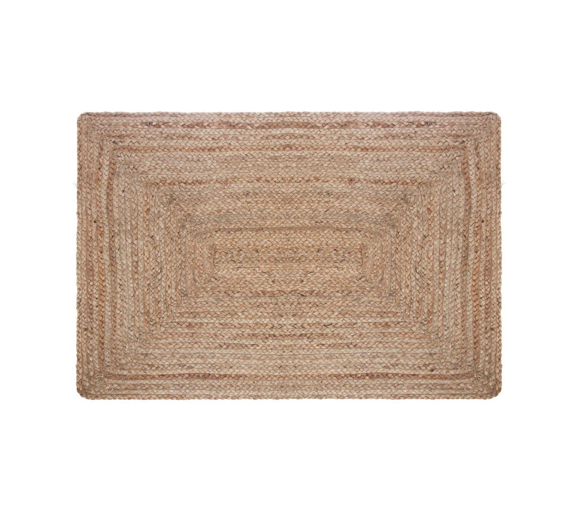 Canapé En Toile De Jute tapis effet naturel en jute - 60 x 90 cm - naturel - tapis