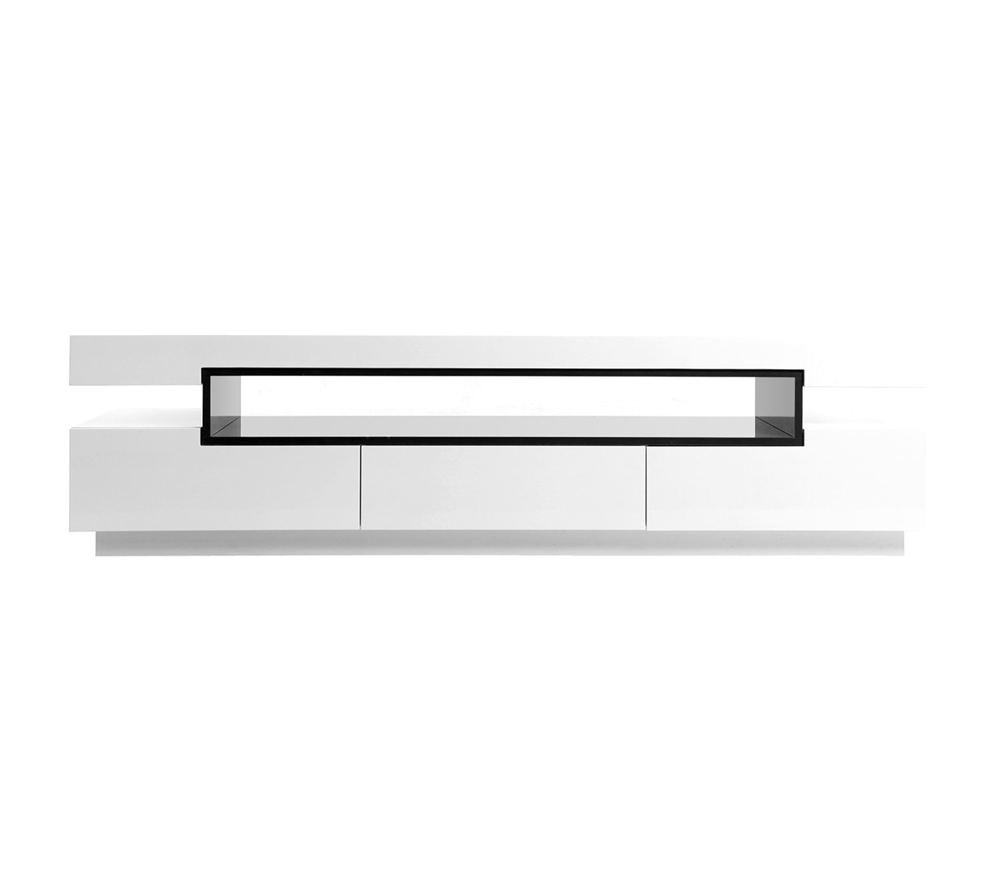 Difference Blanc Brillant Et Blanc Laqué meuble tv design laqué blanc brillant livo