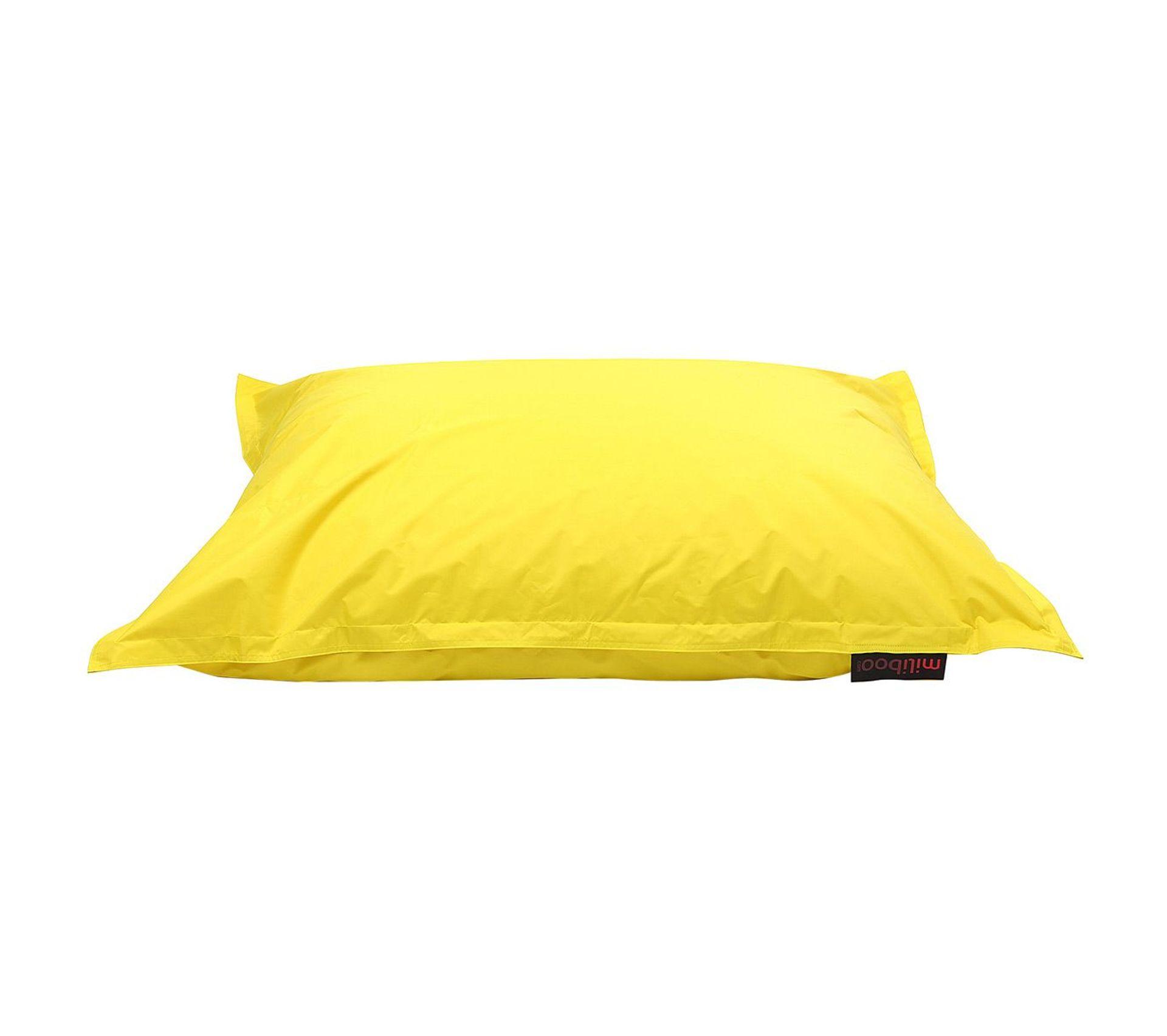 Table Basse Lego Geant housse de pouf géant jaune big milibag