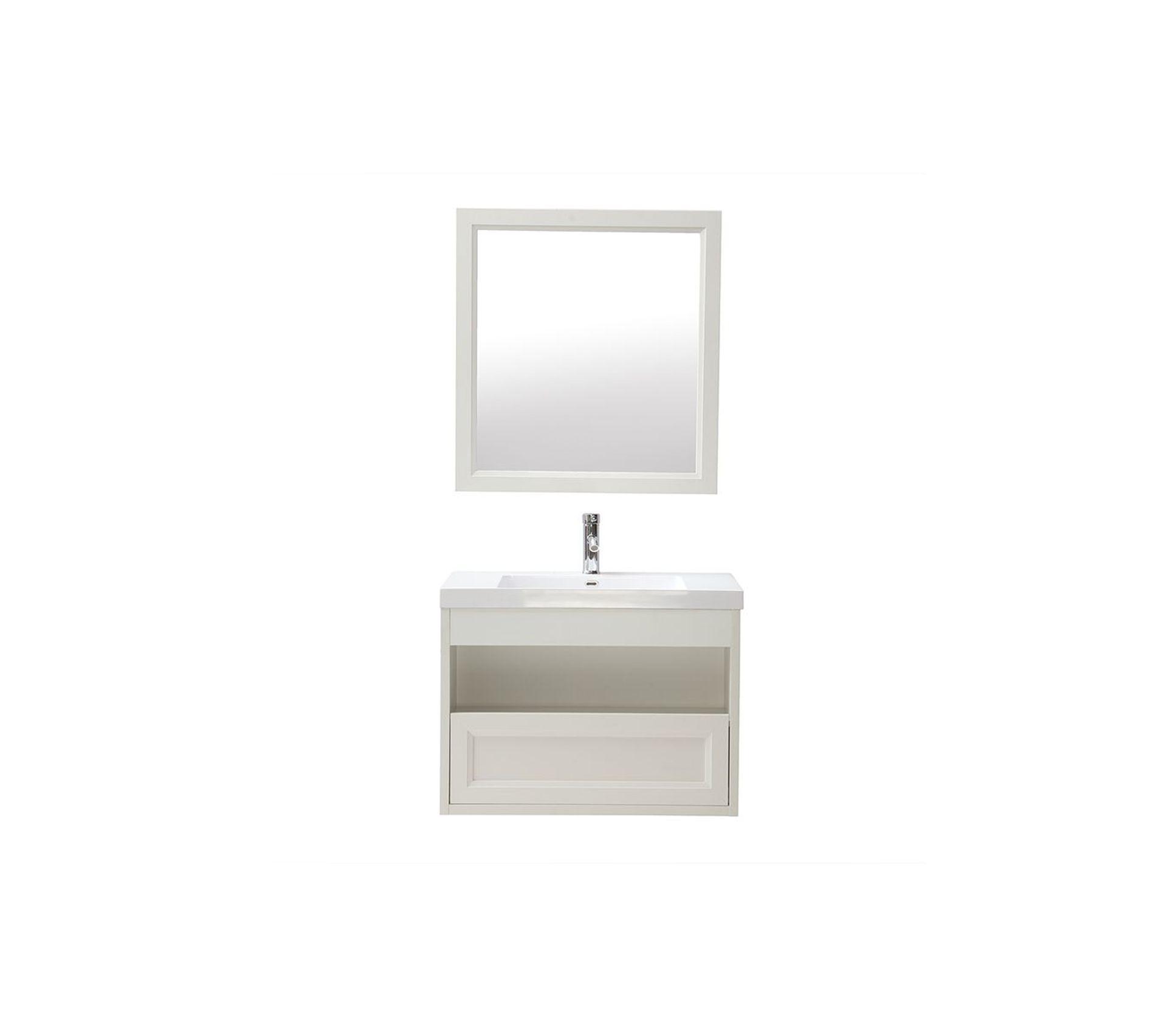 Vasque Salle De Bain A Suspendre meuble de salle de bains suspendu avec vasque, miroir et rangement blanc  river