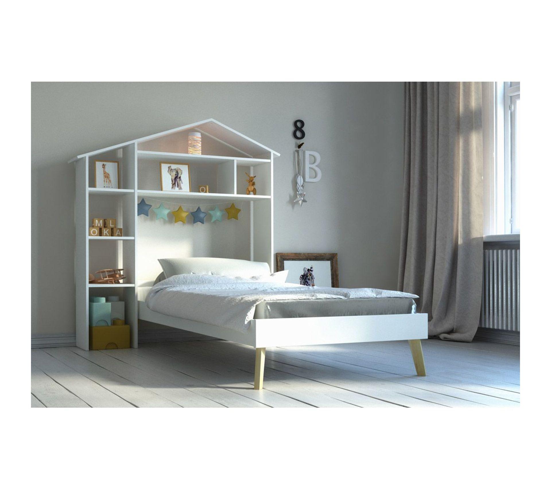 Tete De Lit Voile lit enfant et tête de lit avec rangements home