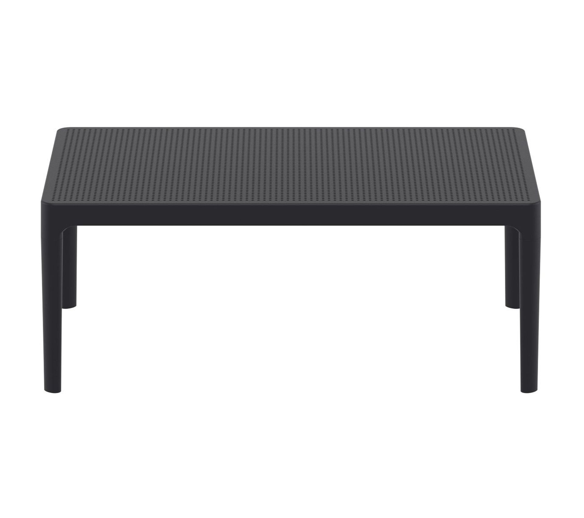 Table Basse Design Interieur Exterieur Noir Oskol Table De
