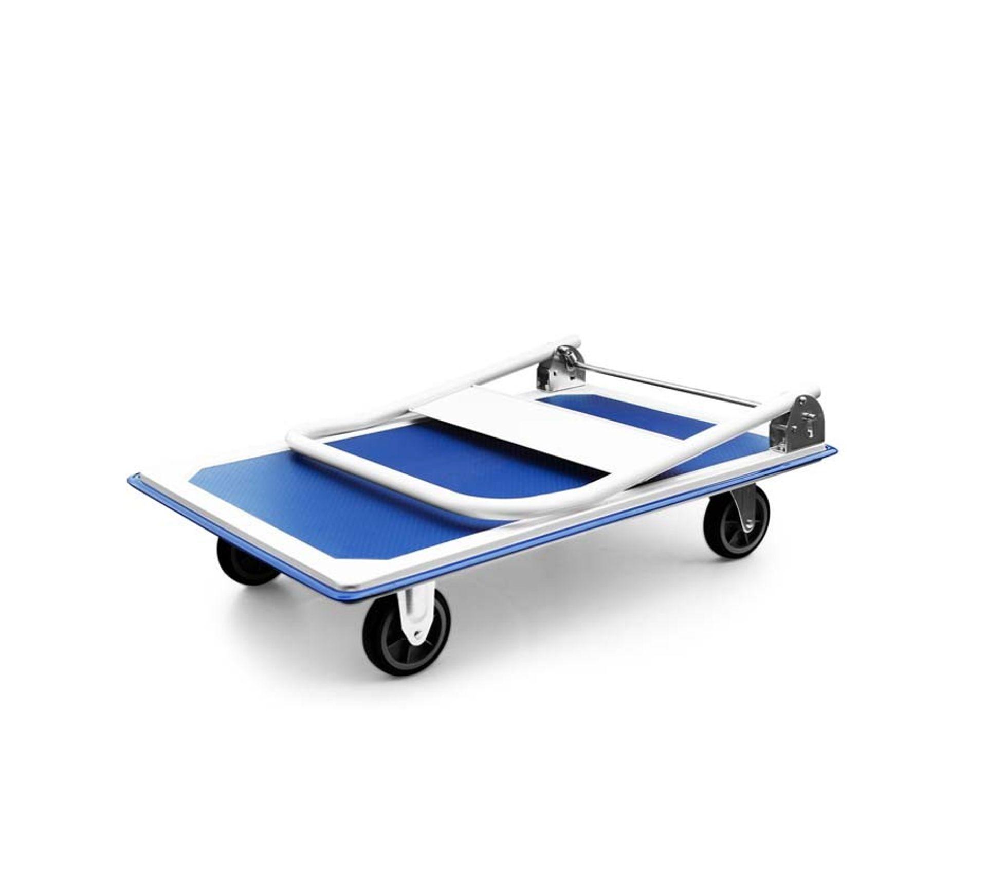 Chariot A Plate Forme Pliable 300kg Brico Cpm300 De Pullman Bricolage But