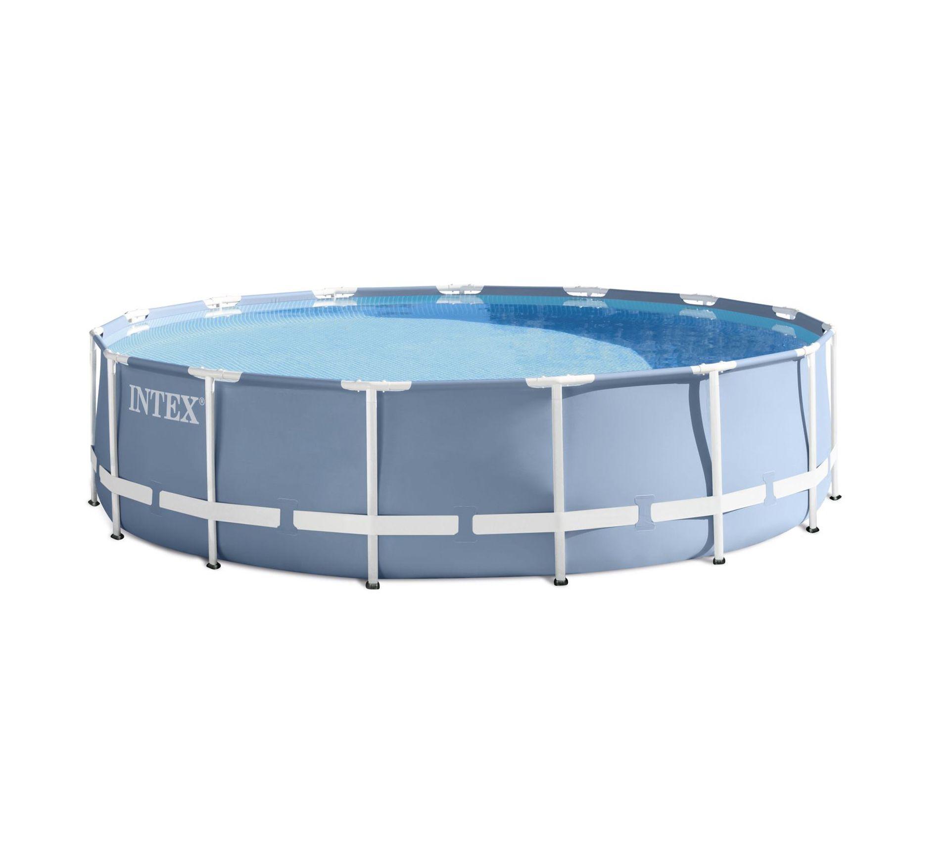 Eclairage Pour Piscine Tubulaire piscine tubulaire ronde avec accessoires prism - diam. 457 x h. 107 cm