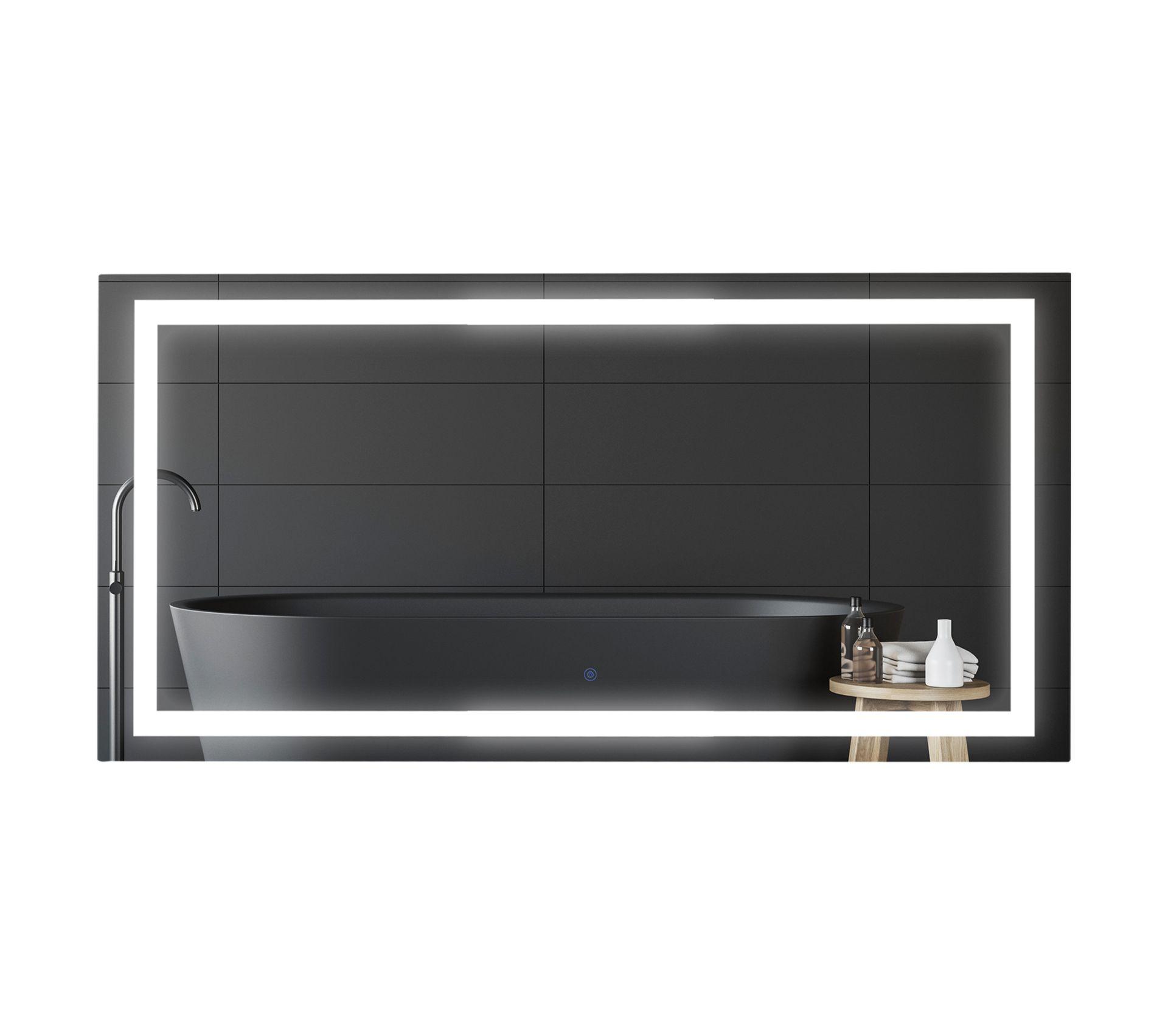 Miroir Lumineux LED 53 W 120l X 60l Cm - Miroir salle de ...
