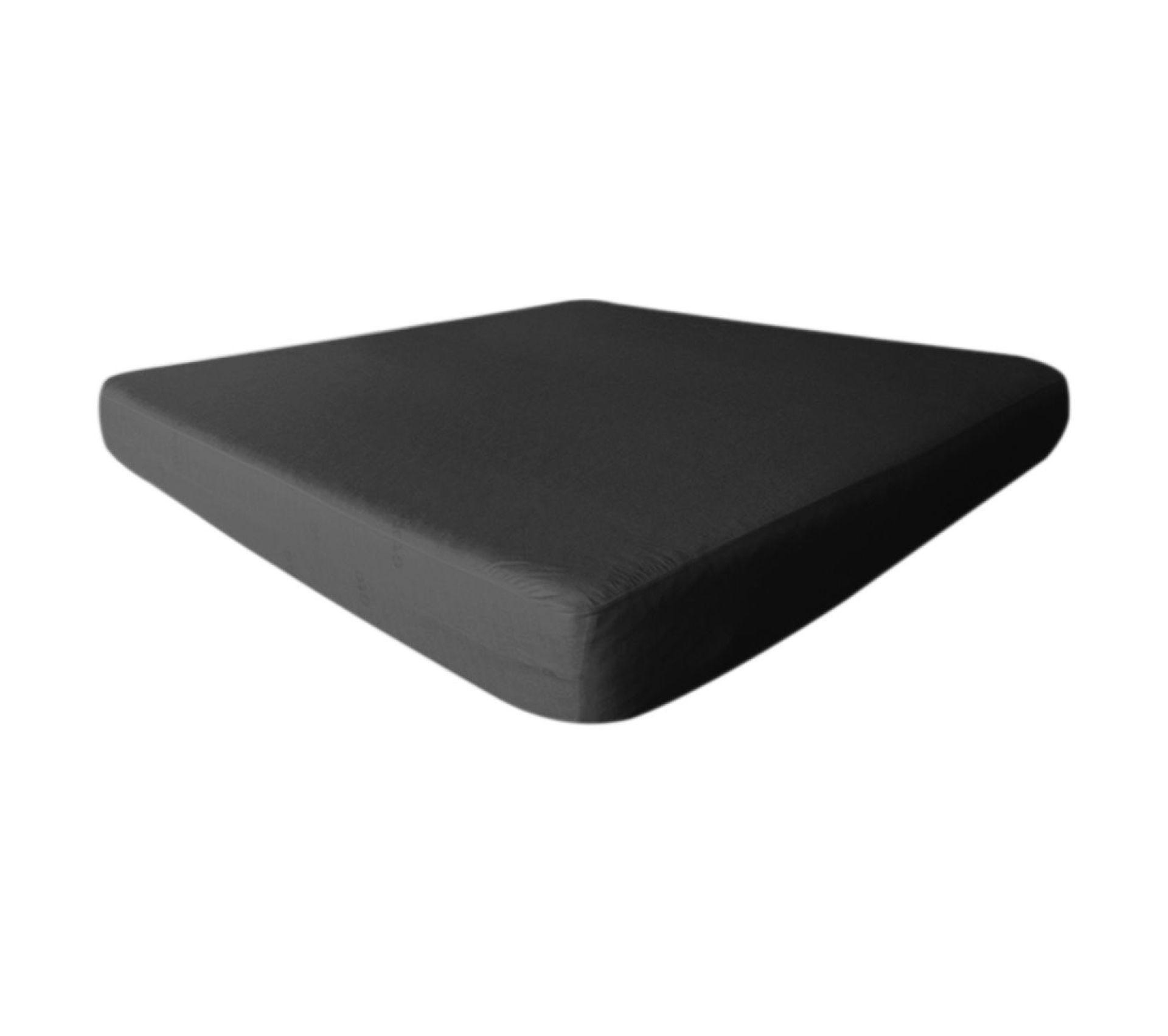 Drap Housse 80x200 cm Noir Imperméable Et