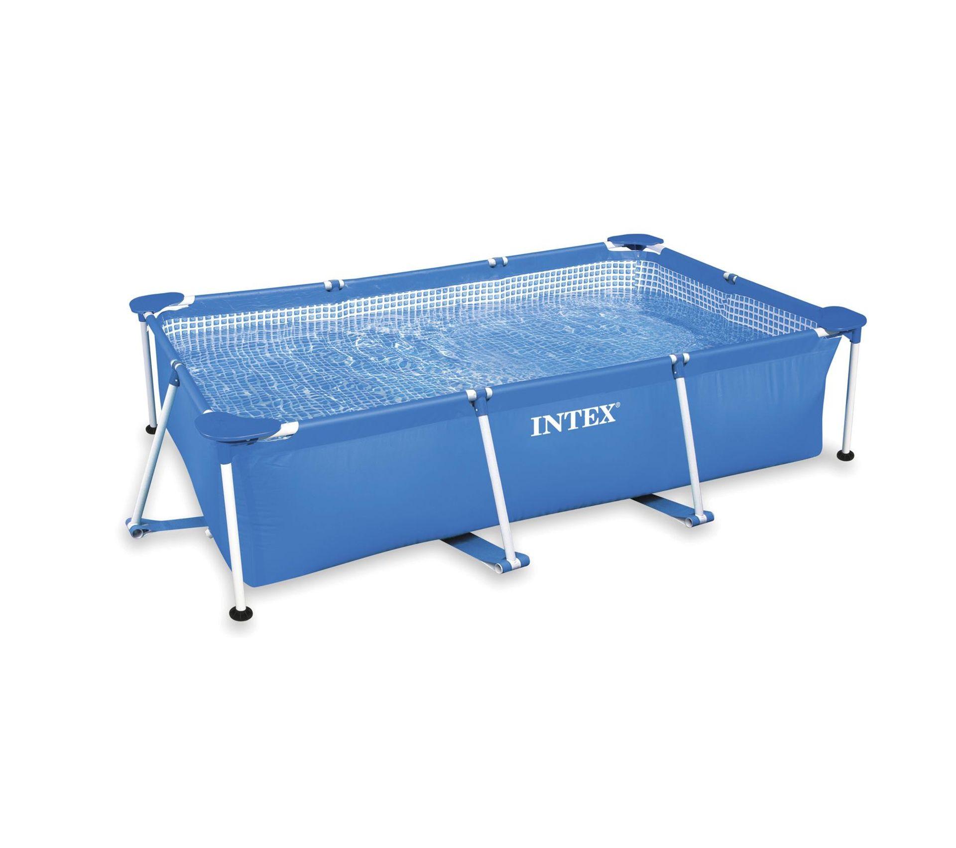 Eclairage Pour Piscine Tubulaire piscine tubulaire rectangulaire frame - l. 260 x h. 65 cm