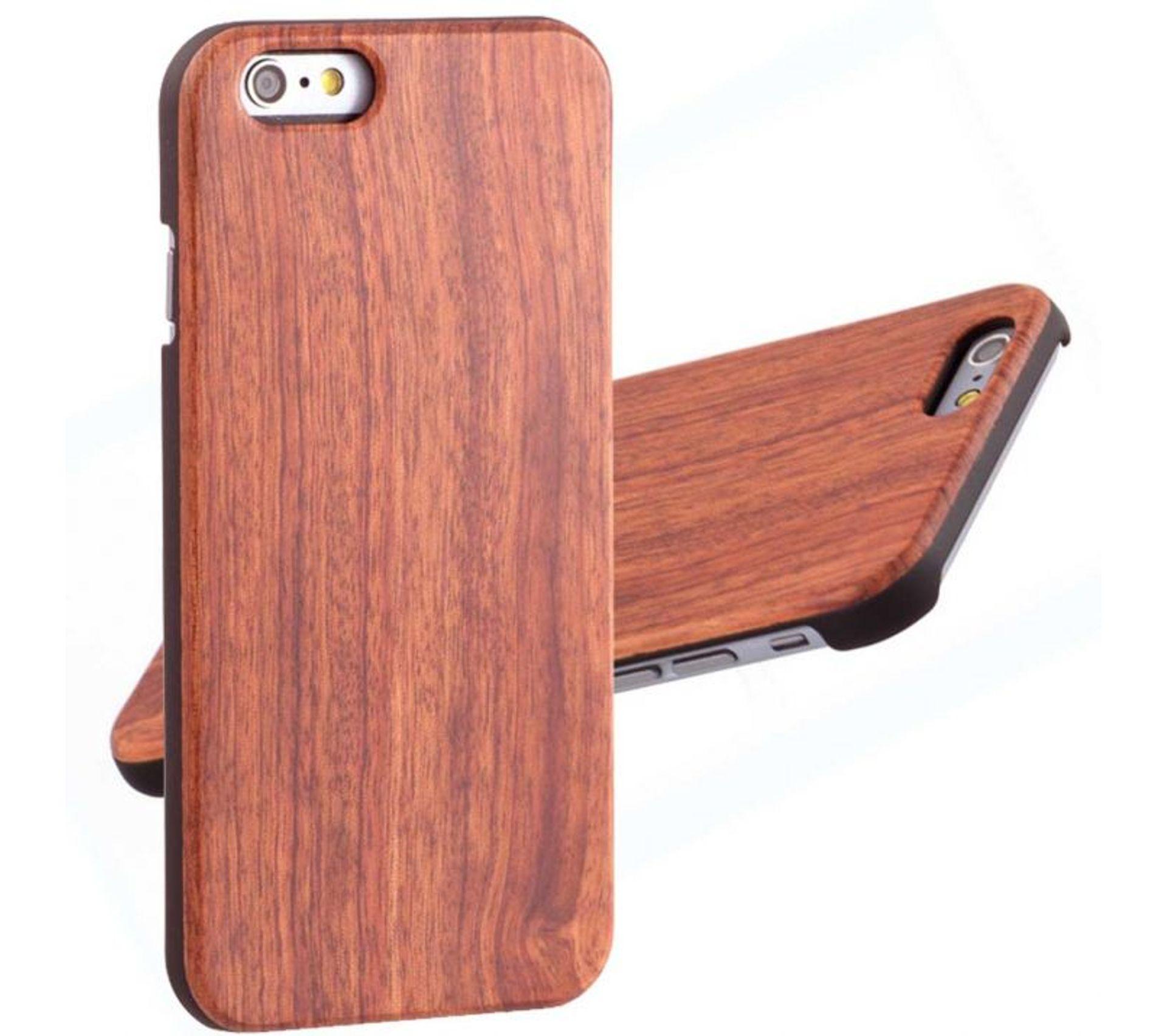 Coque Fine En Bois Exotique Naturel Pour iPhone 6 6s