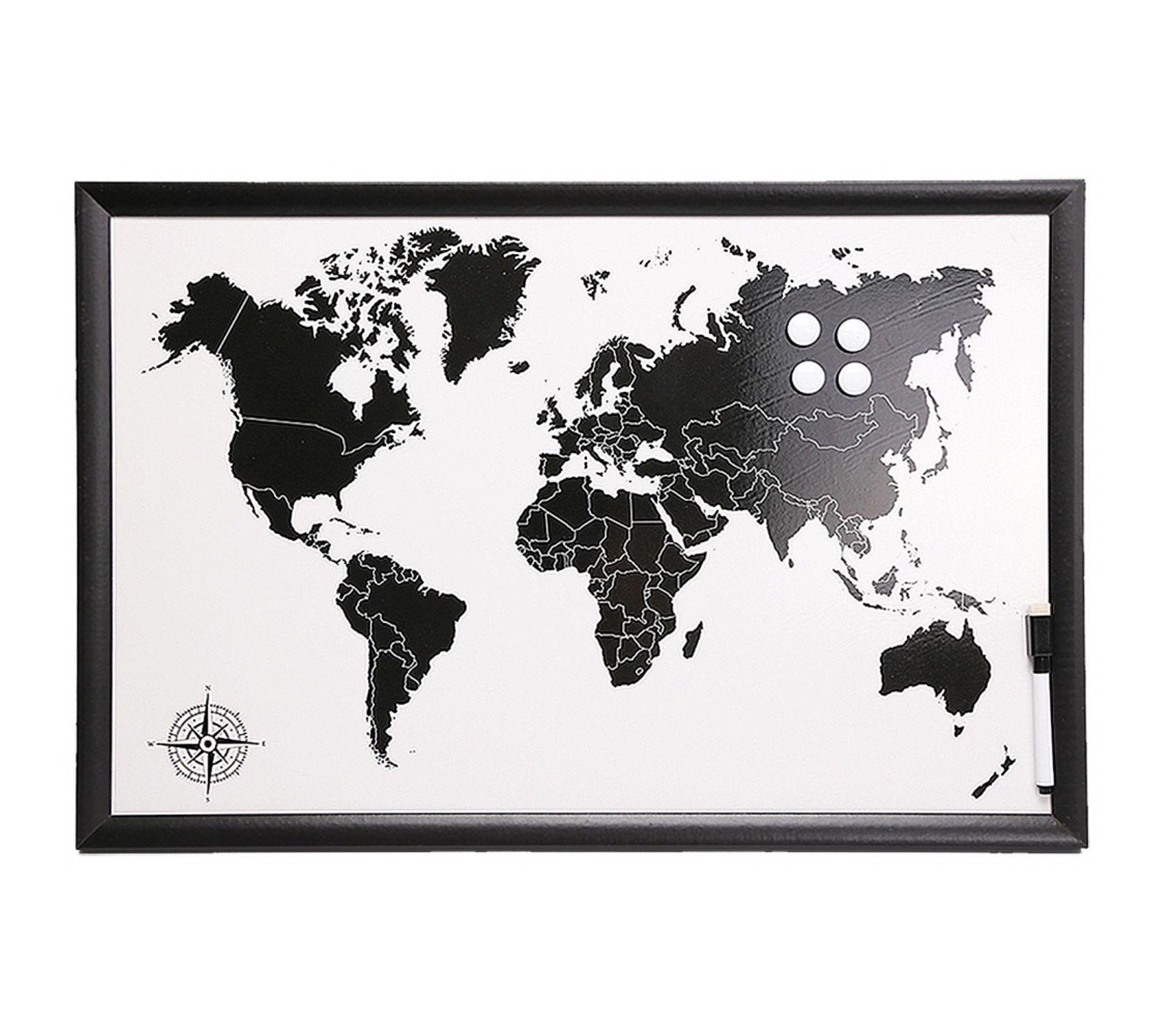 Tableau Carte Du Monde Magnétique Avec Feutre Marqueur