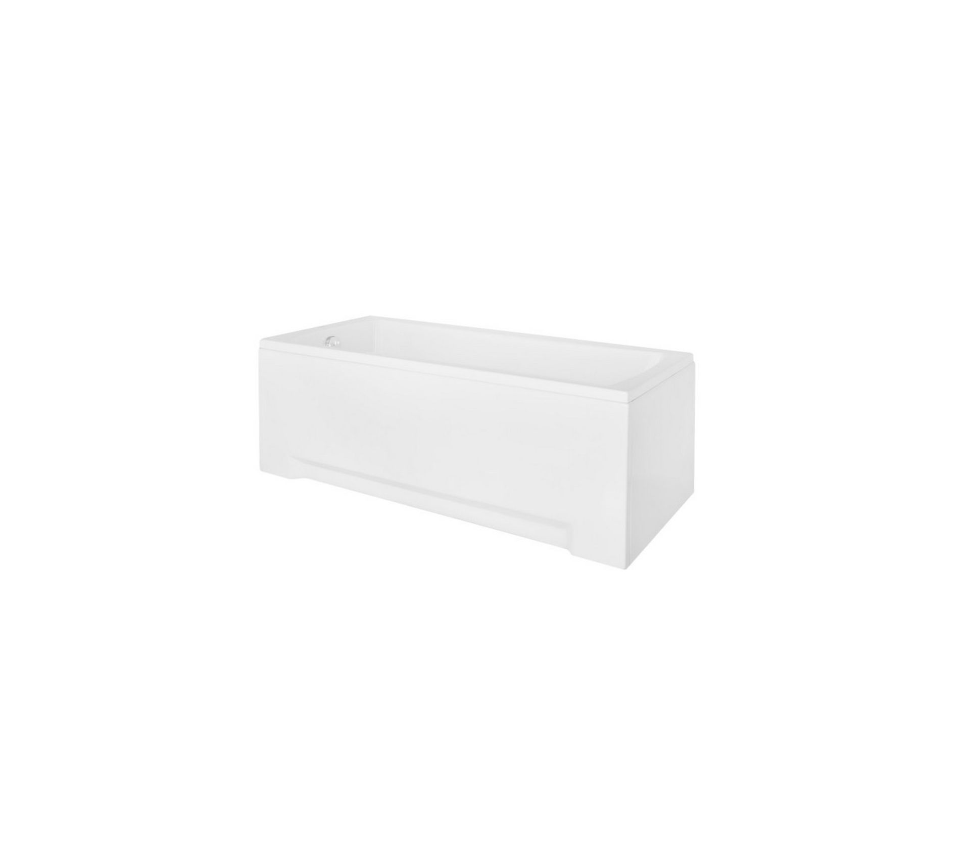 Decoration Tablier De Baignoire baignoire mirano avec tablier 140/150/160/170 x 70 - dimensions: 150 x 70 cm