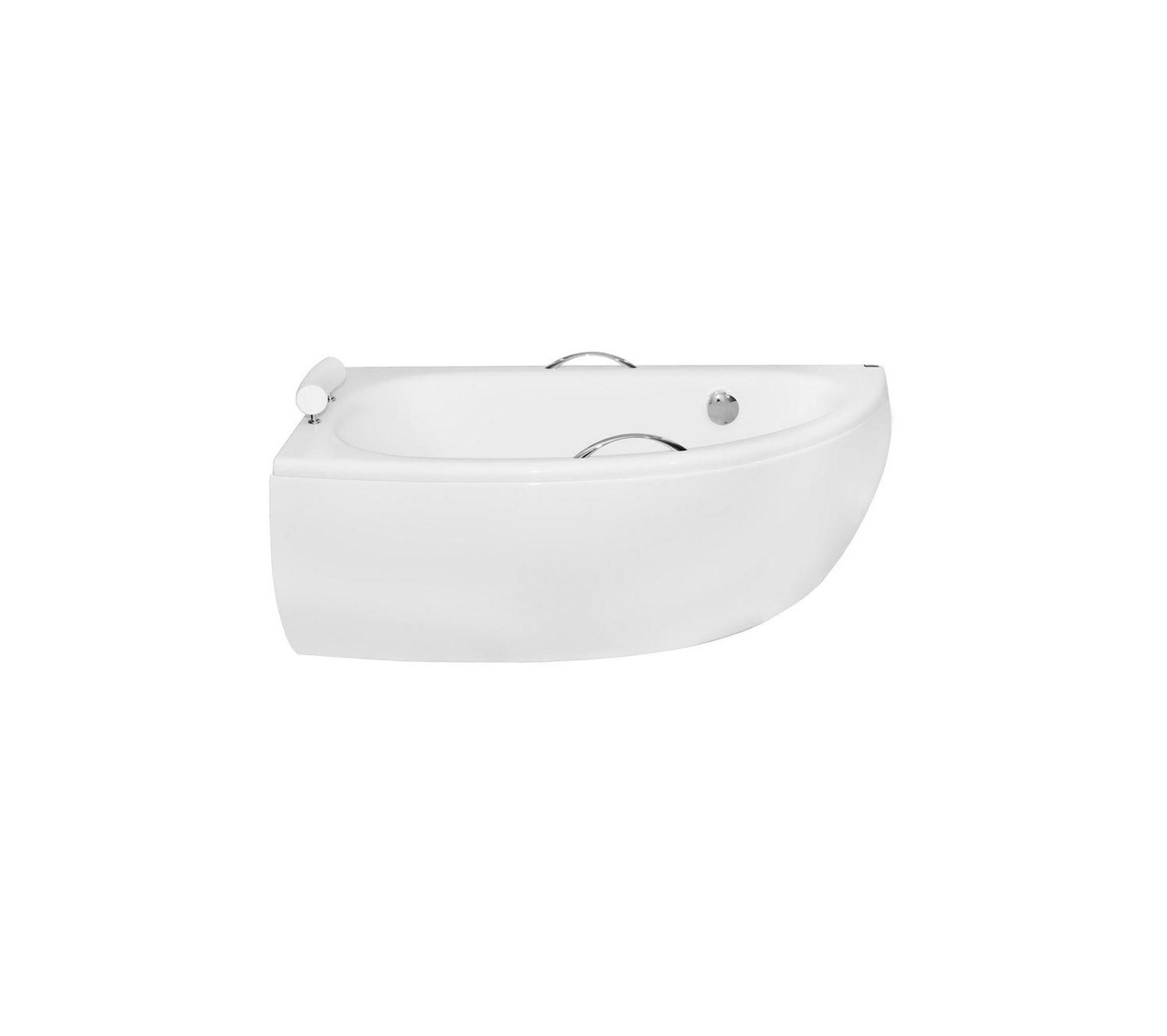 Decoration Tablier De Baignoire baignoire dangle marina angle droit ou gauche avec tablier - orientation:  gauche