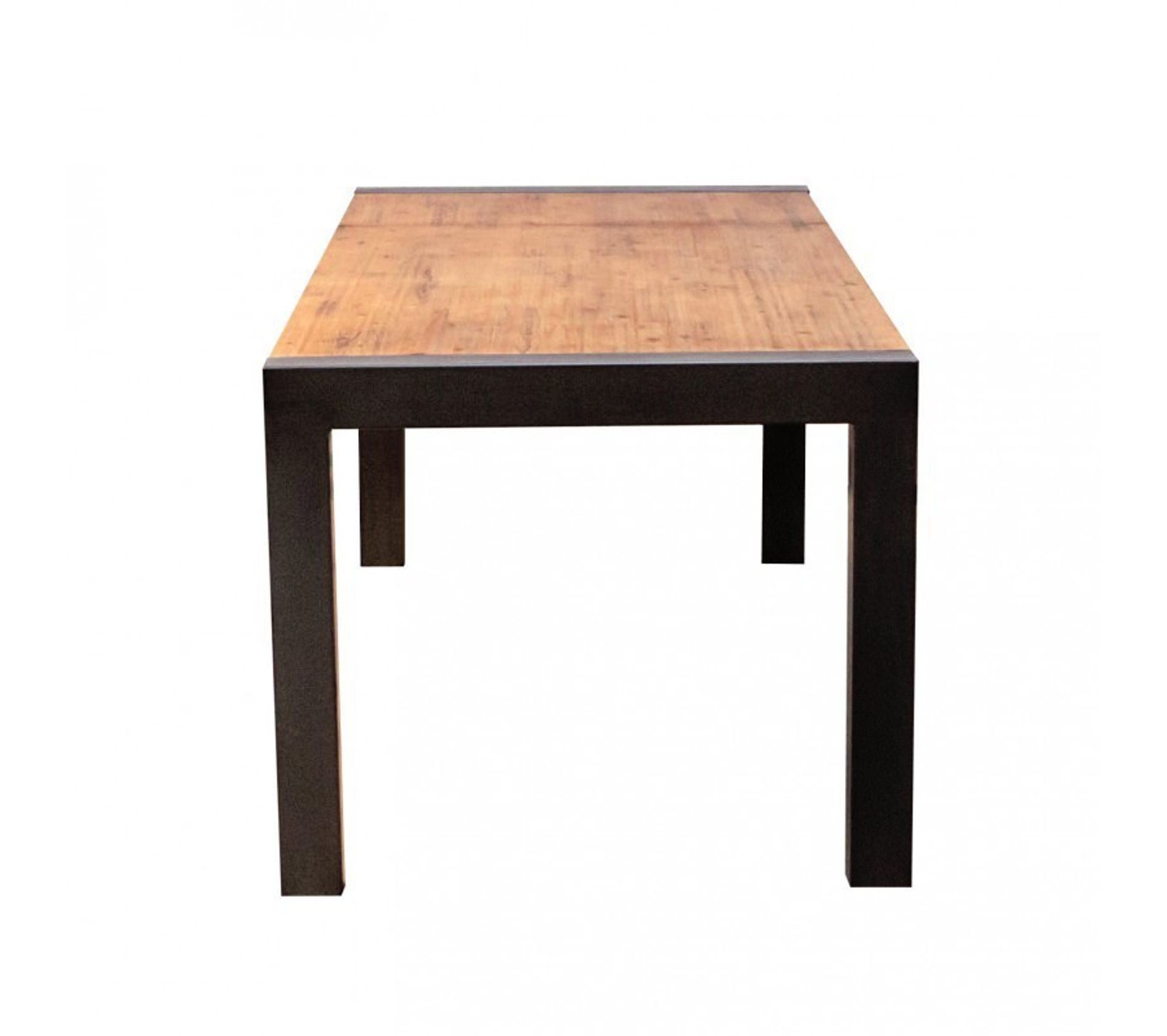Table Repas Extensible En Acacia Workshop Table But