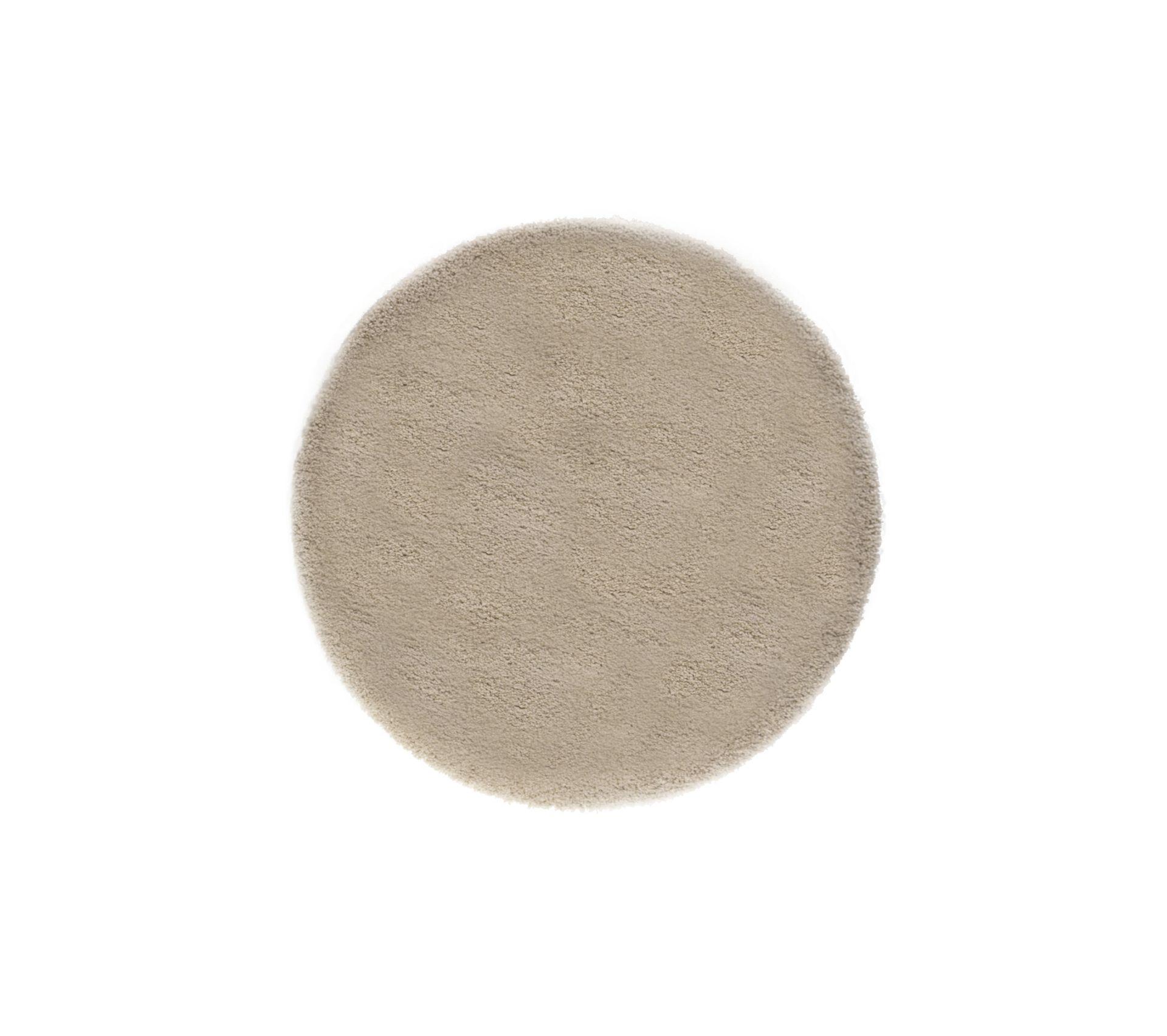 tapis rond 160 cm oxa beige