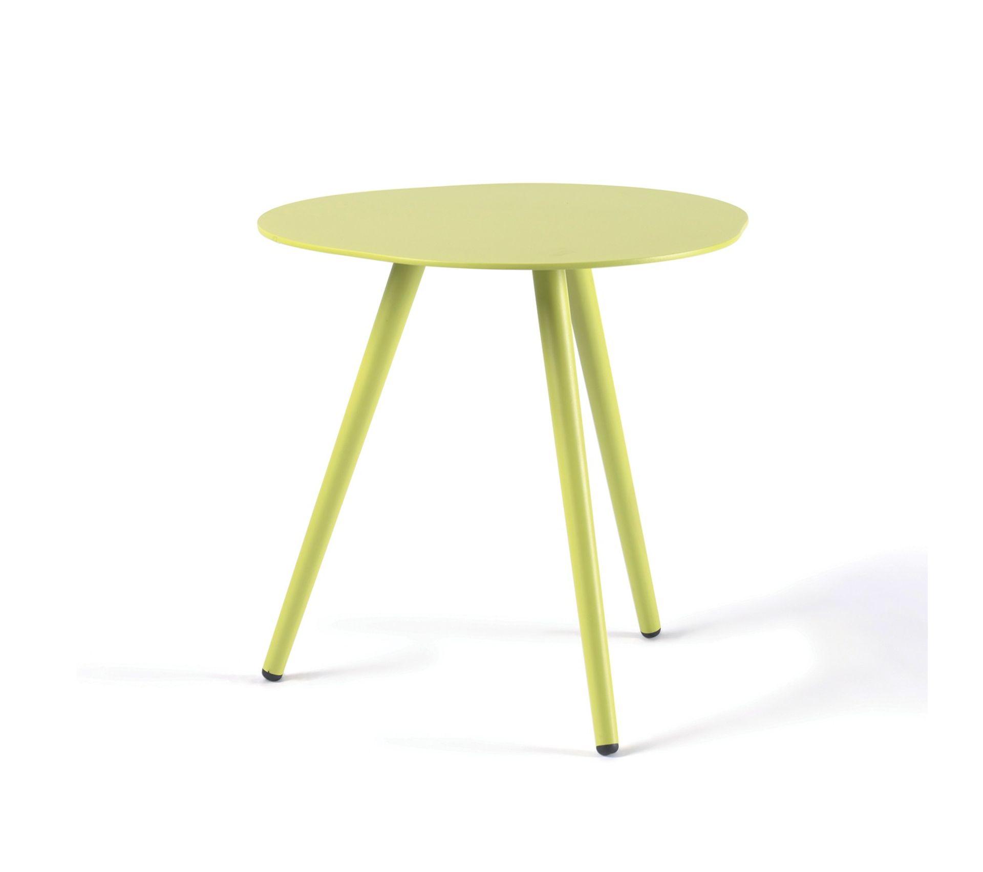 Meuble De Cuisine Vert Anis table dappoint en alu vert anis spezia