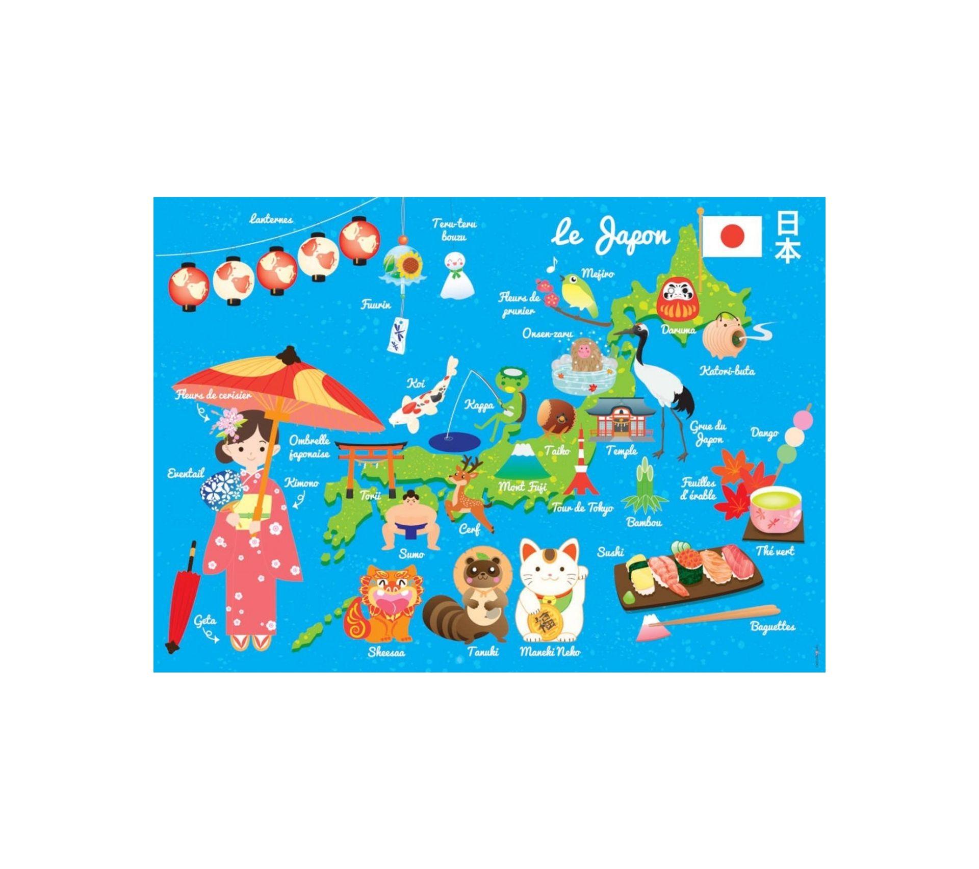 Carte Barrière 100 taille parfaite Japon