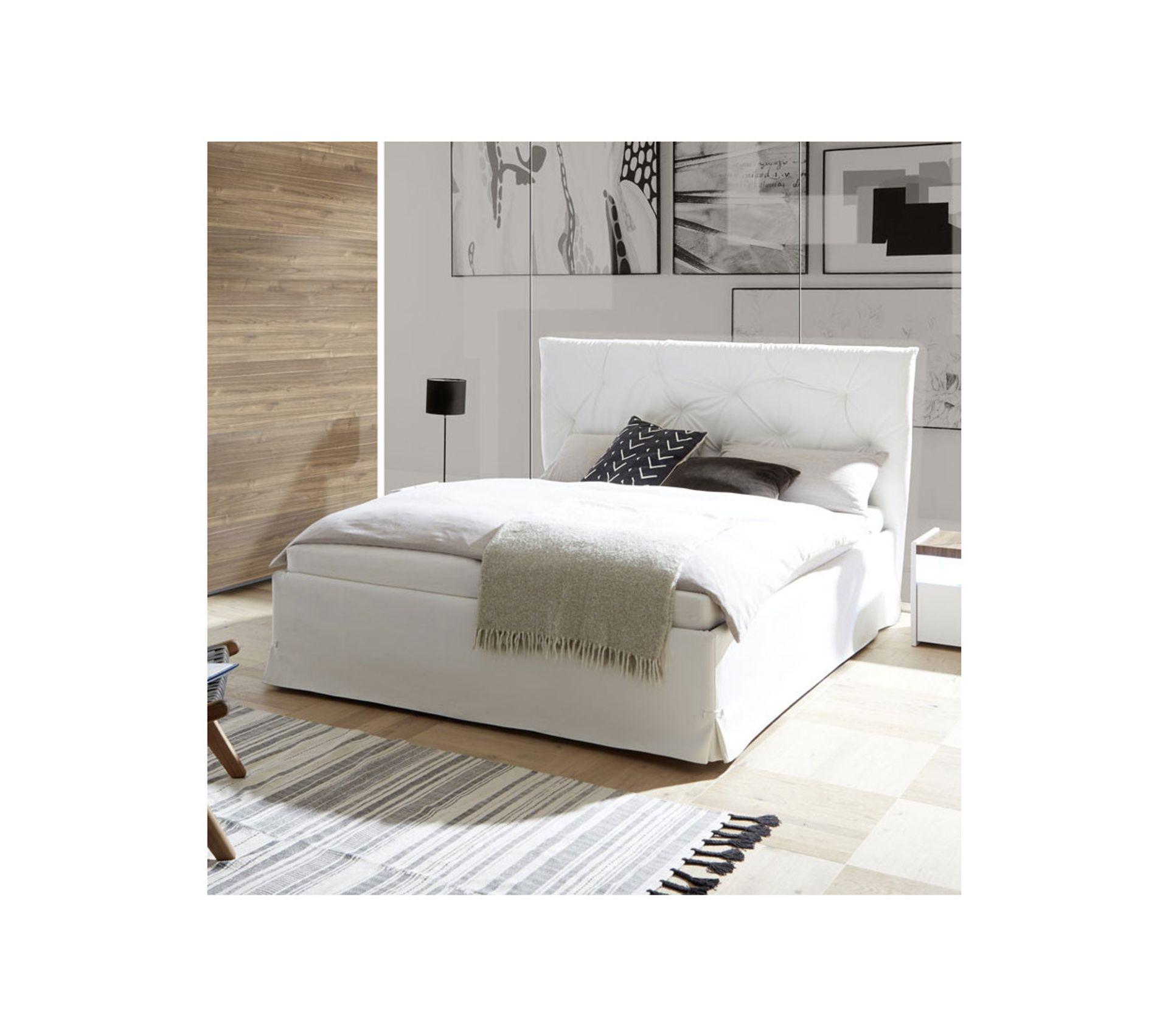 cadre  tête de lit 160200 cm simili cuir blanc  aniece