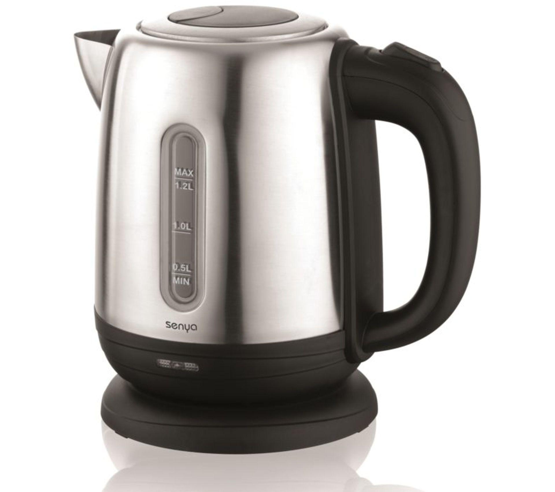Bouilloire Électrique Inox Little Tea 1,2l Noir