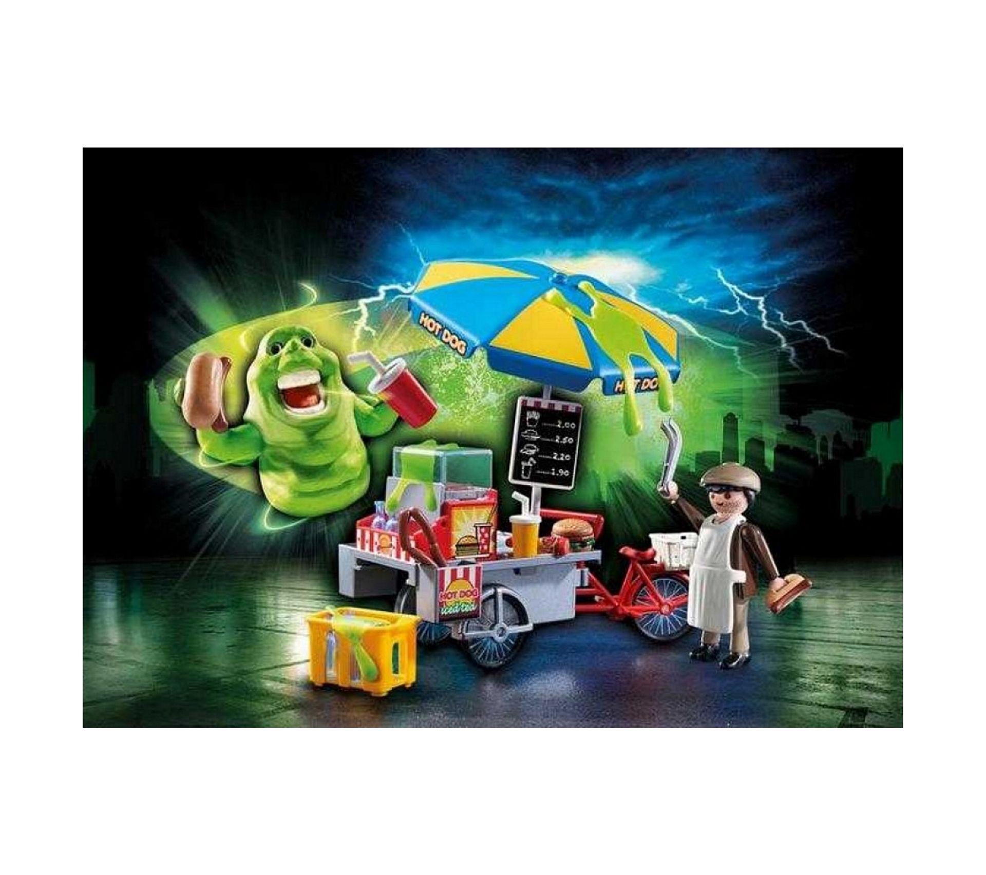9222 Playmobil Bouffe-Tout avec Stand De Hot-Dog