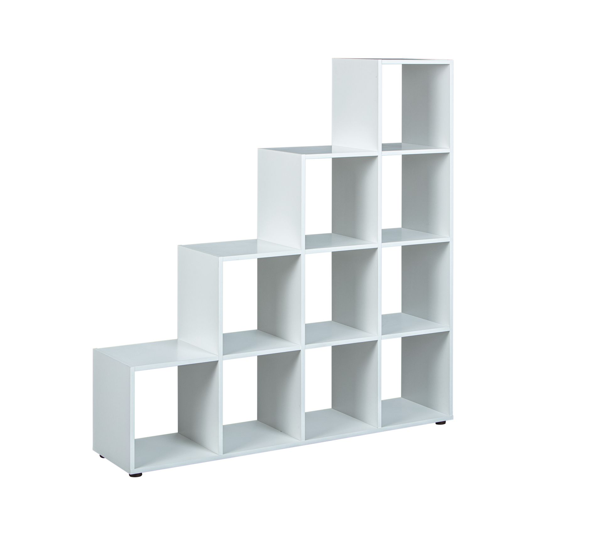 Etagere De Separation Bibliotheque Caboto 10 Cases Blanc Bibliotheque Et Etagere But