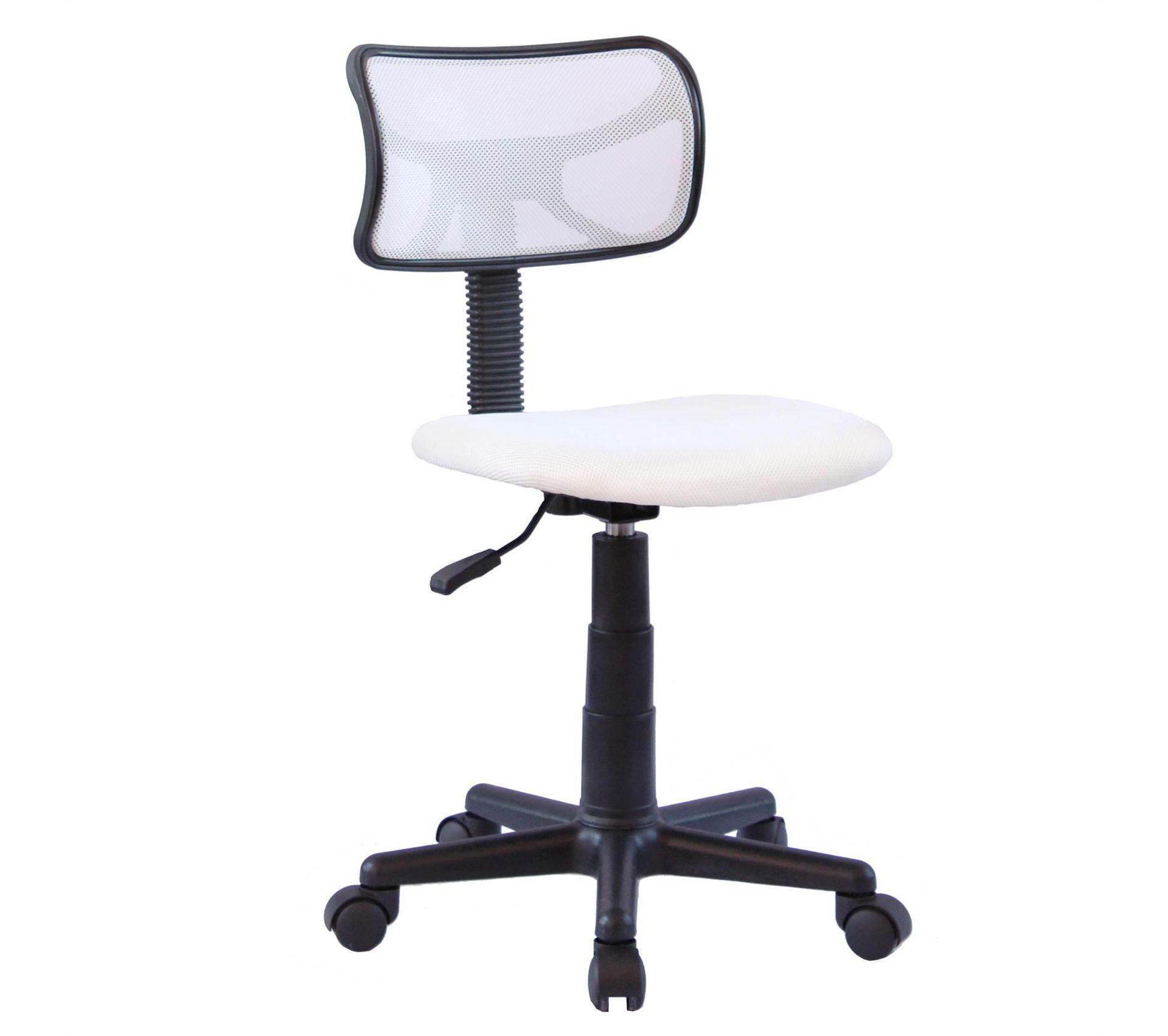 Chaise De Bureau Pour Enfant Milan Pivotant Et Ergonomique Hauteur Réglable, Blanc