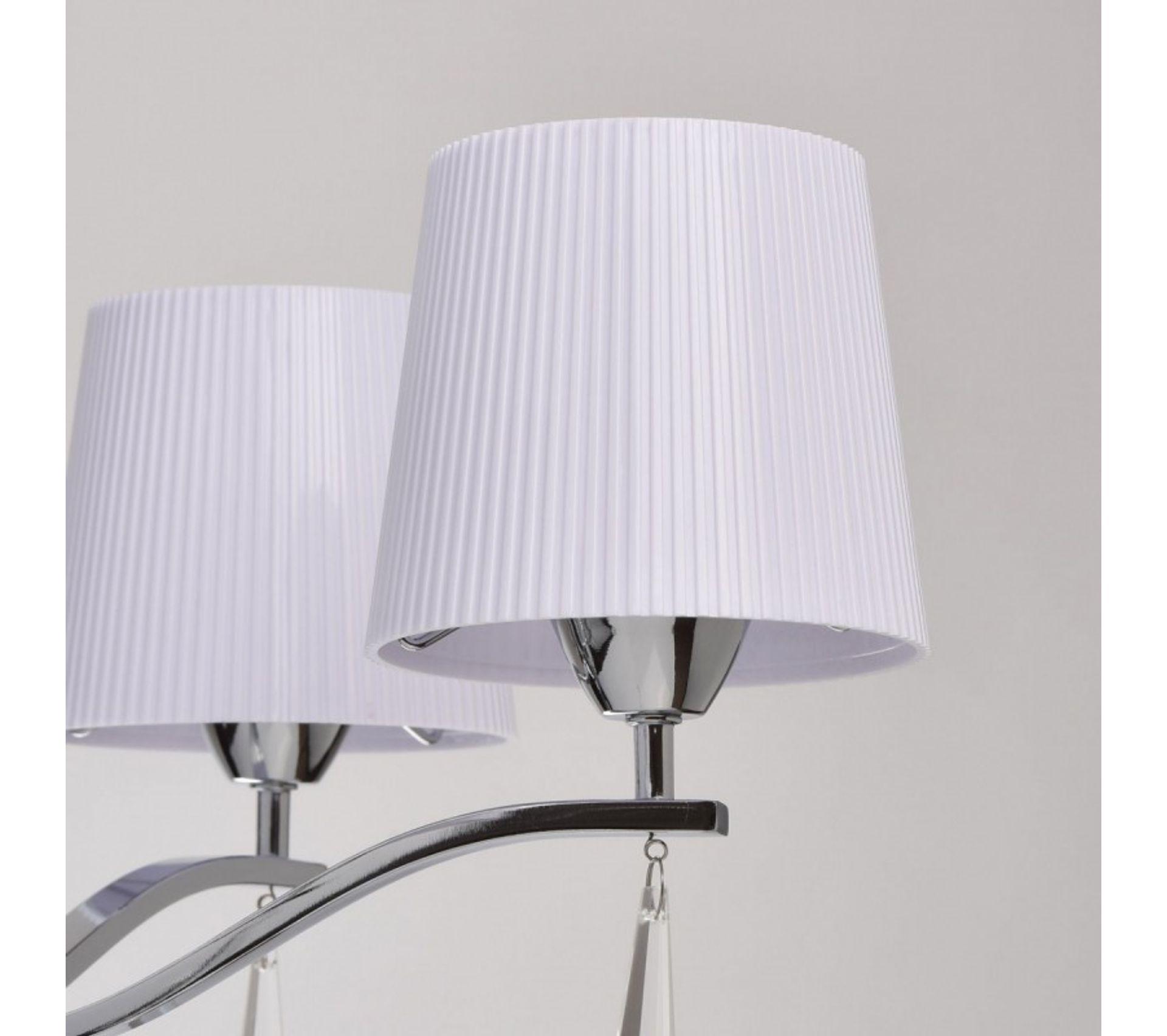 Luminaire - Lustre suspension blanc - Comforium
