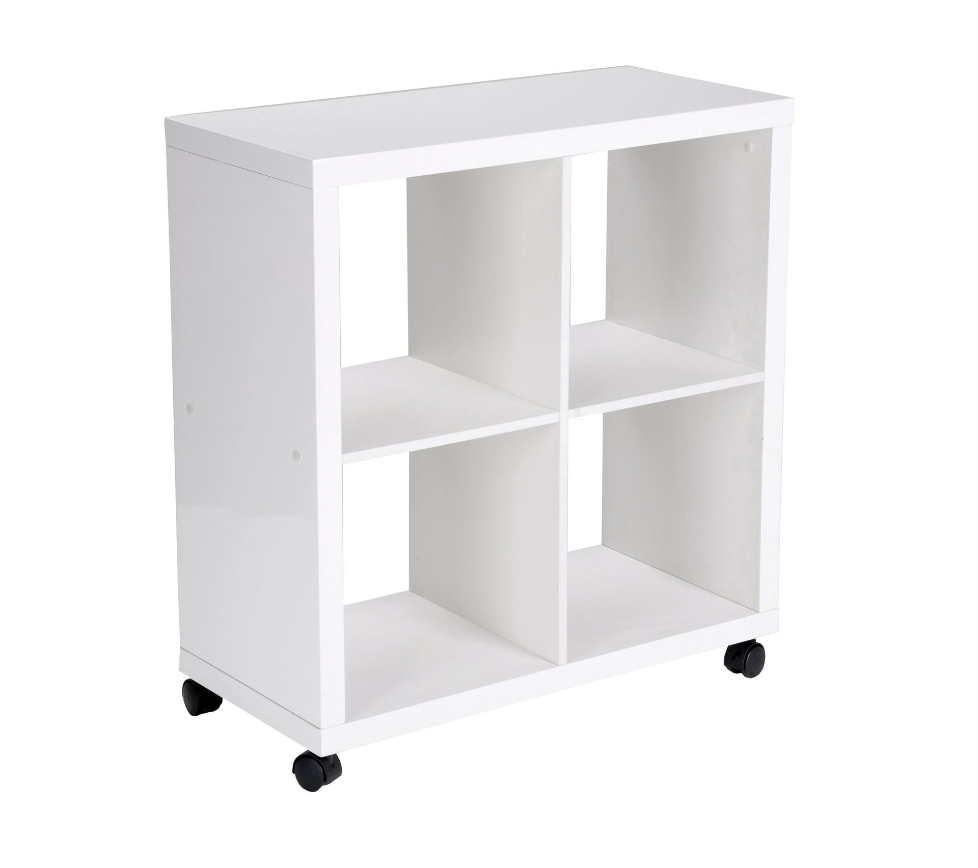 Étagère porte-une coupe droite pour 40 cm blanc étagère système étagère angle sol porteur étagère