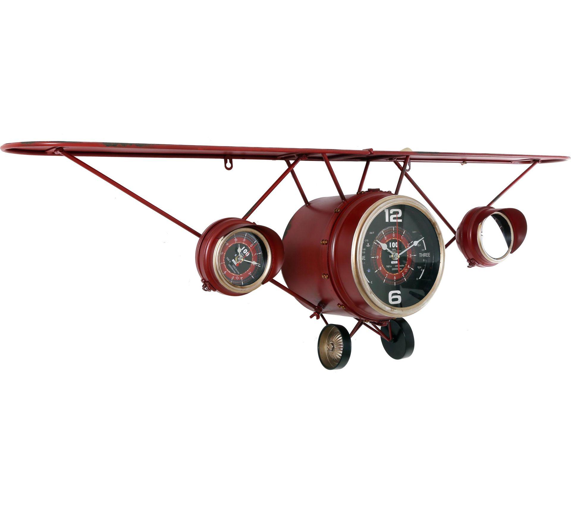 Etagere Avion Chambre Bebe horloge calandre davion Étagère intégrée