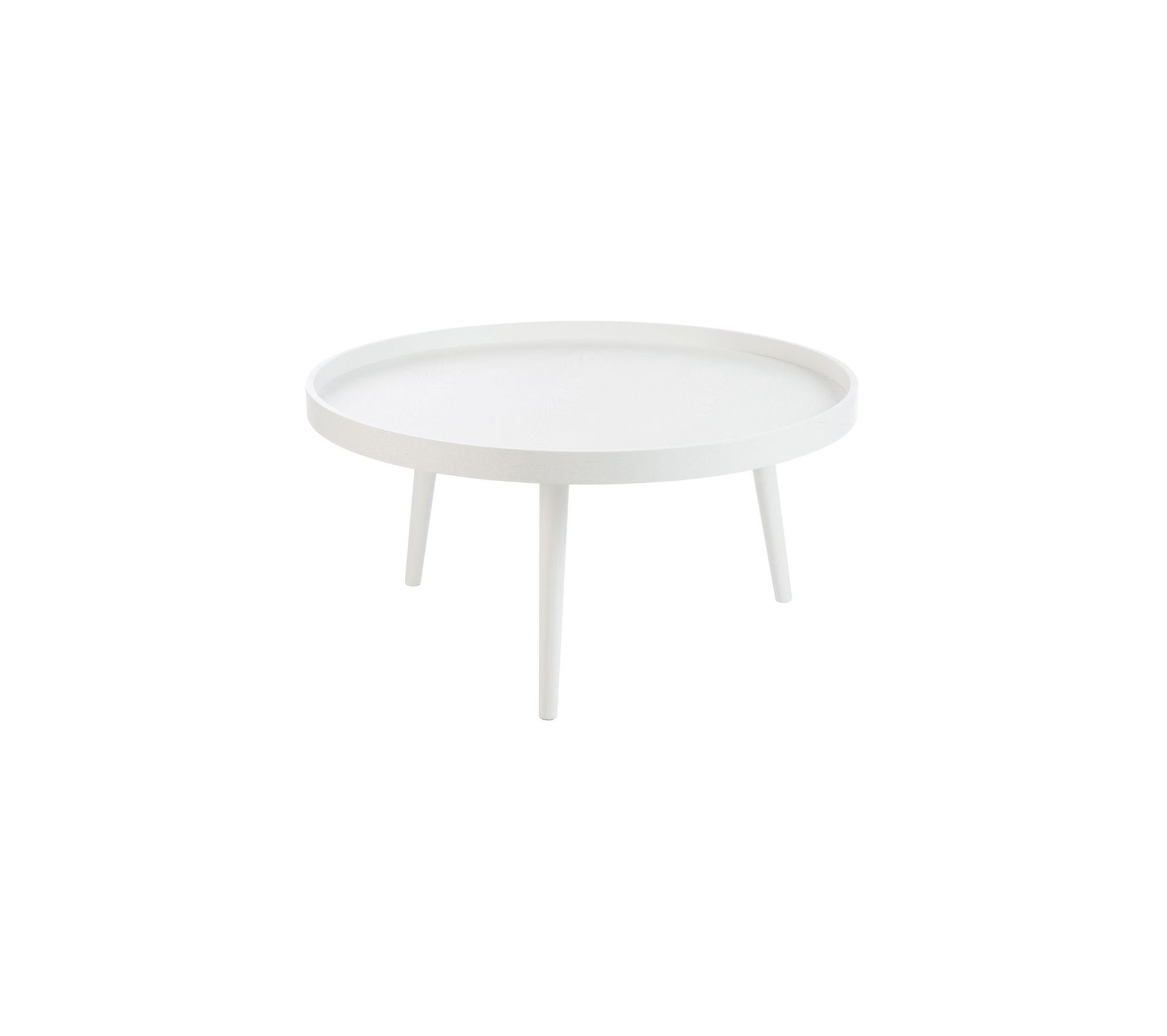 Table Basse Ronde Bois Blanc Table Basse But