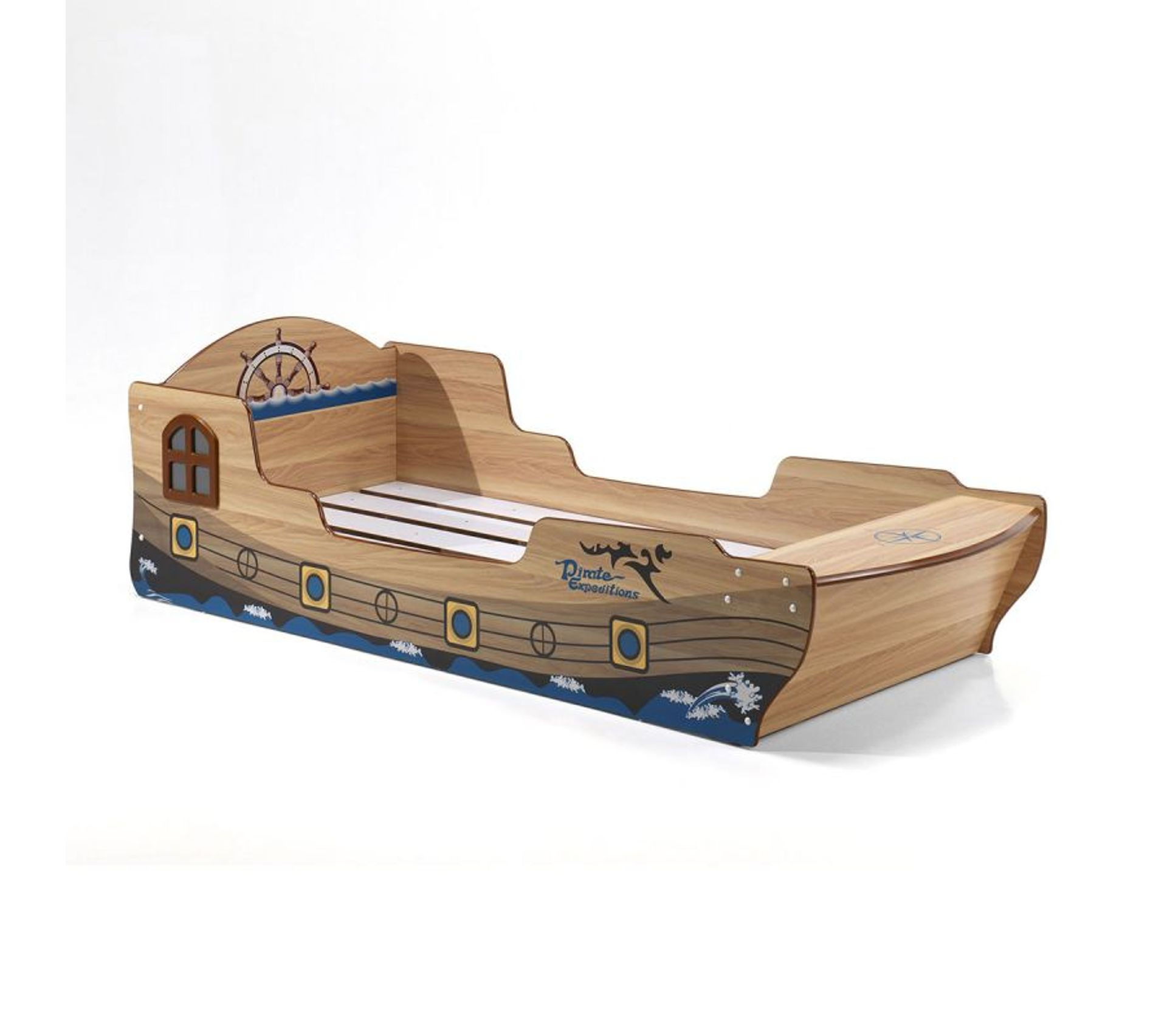 Table De Chevet Pirate vipack lit bateau pirate