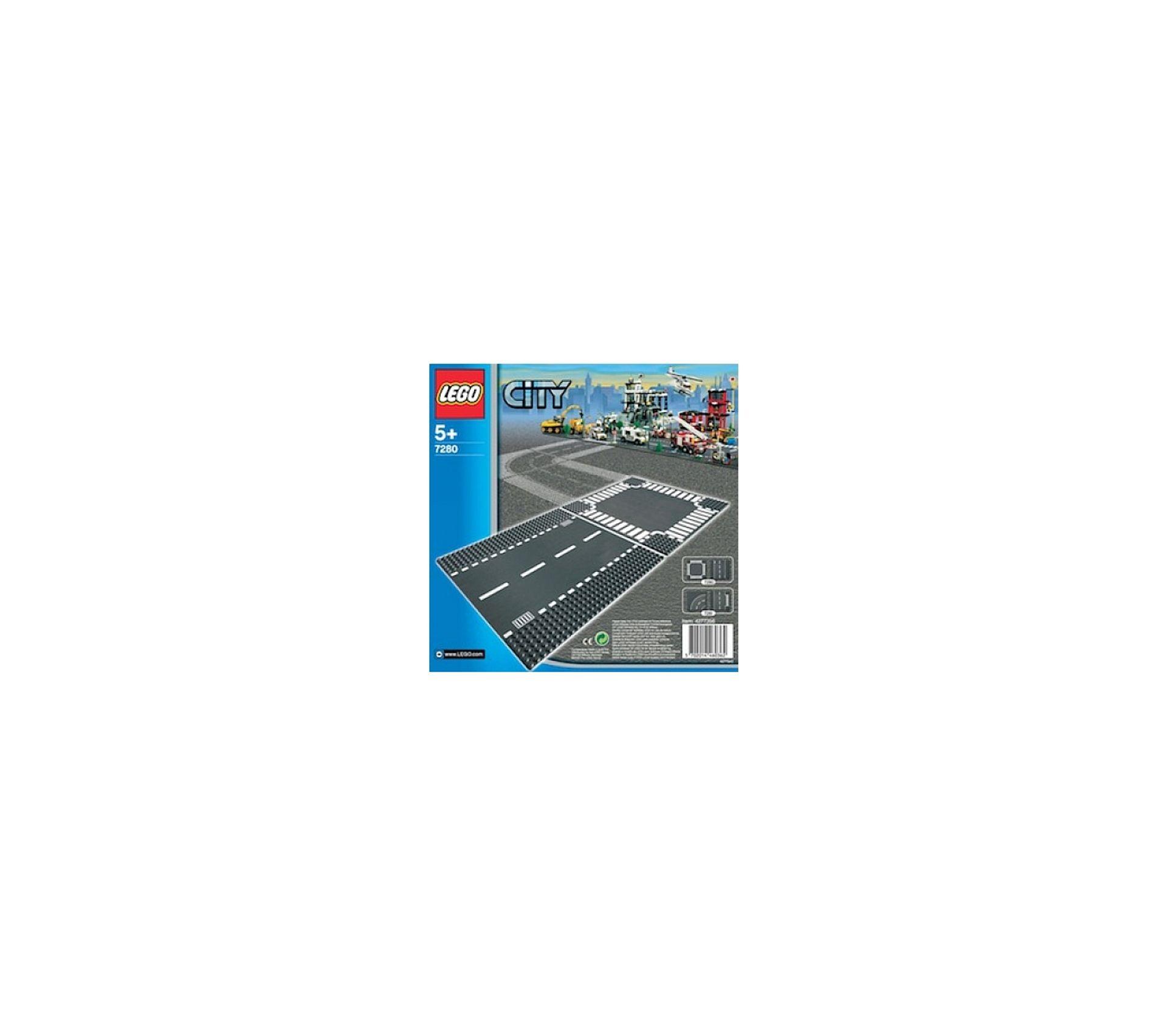 7280 Plaques De Route Ligne Droite Et Carrefour Legor City
