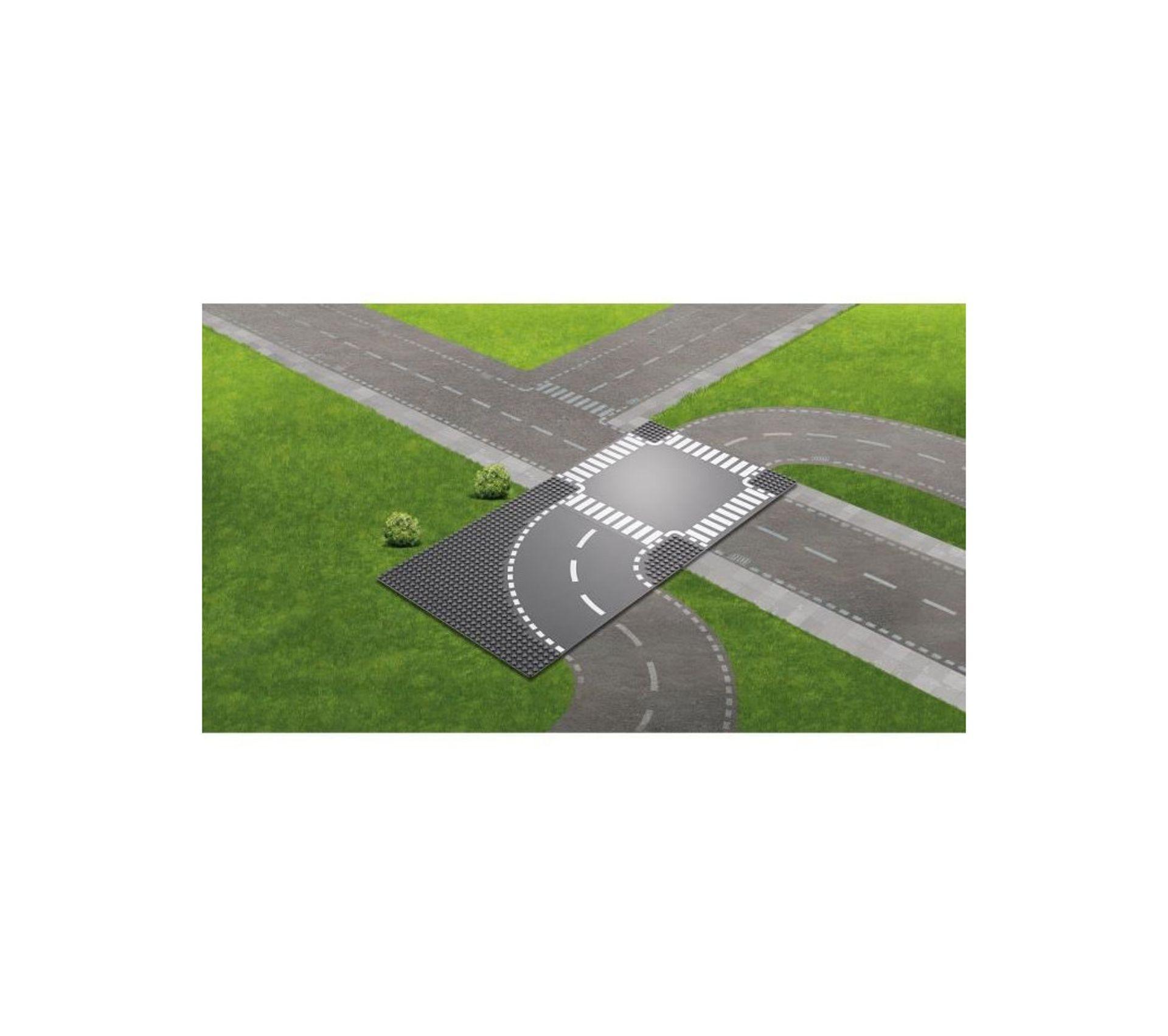 60237 Virage Et Carrefour Legor City Jeux De
