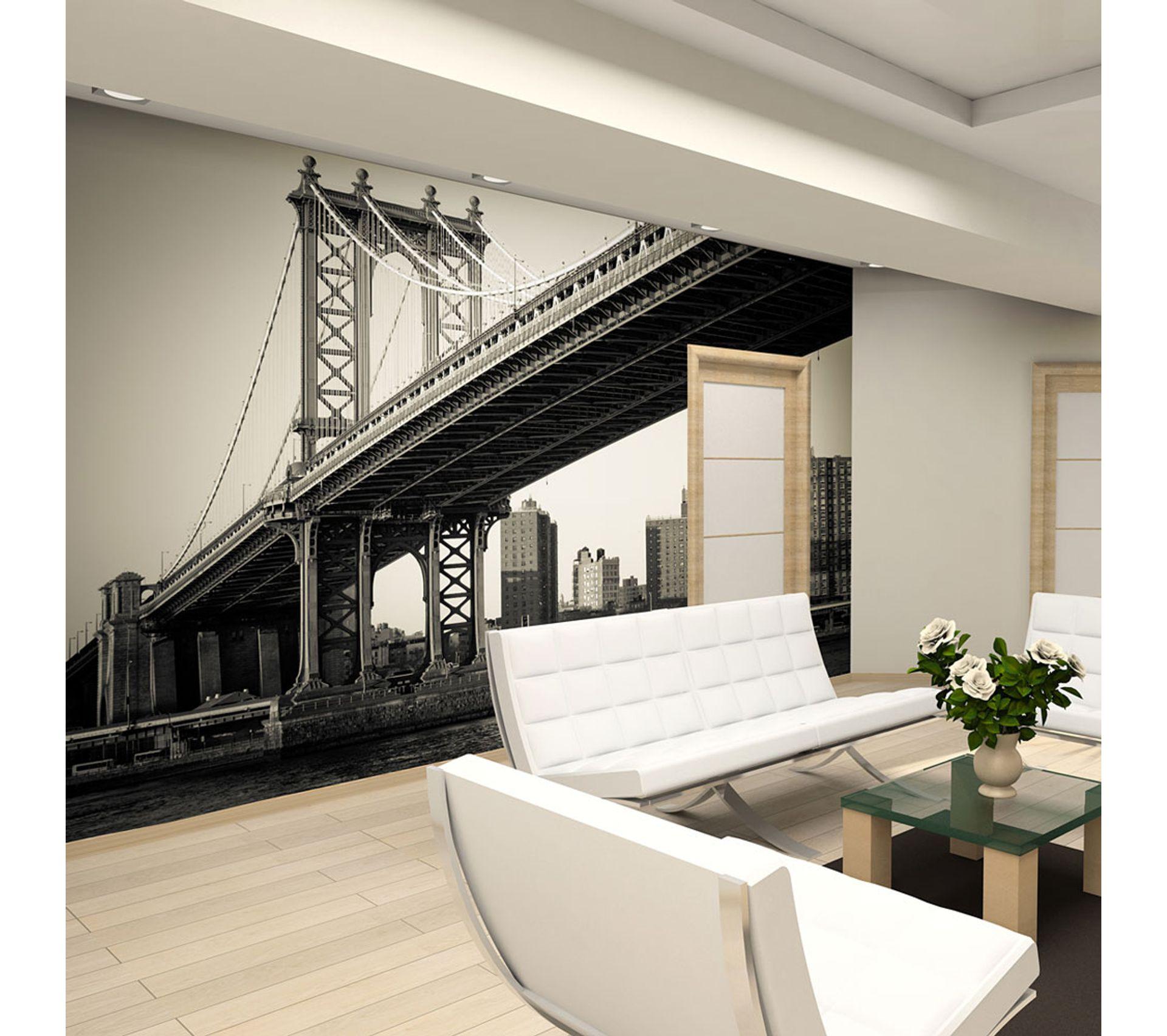 Tapisserie Moderne Pour Chambre Adulte 200x154 papier peint new york ville et architecture moderne
