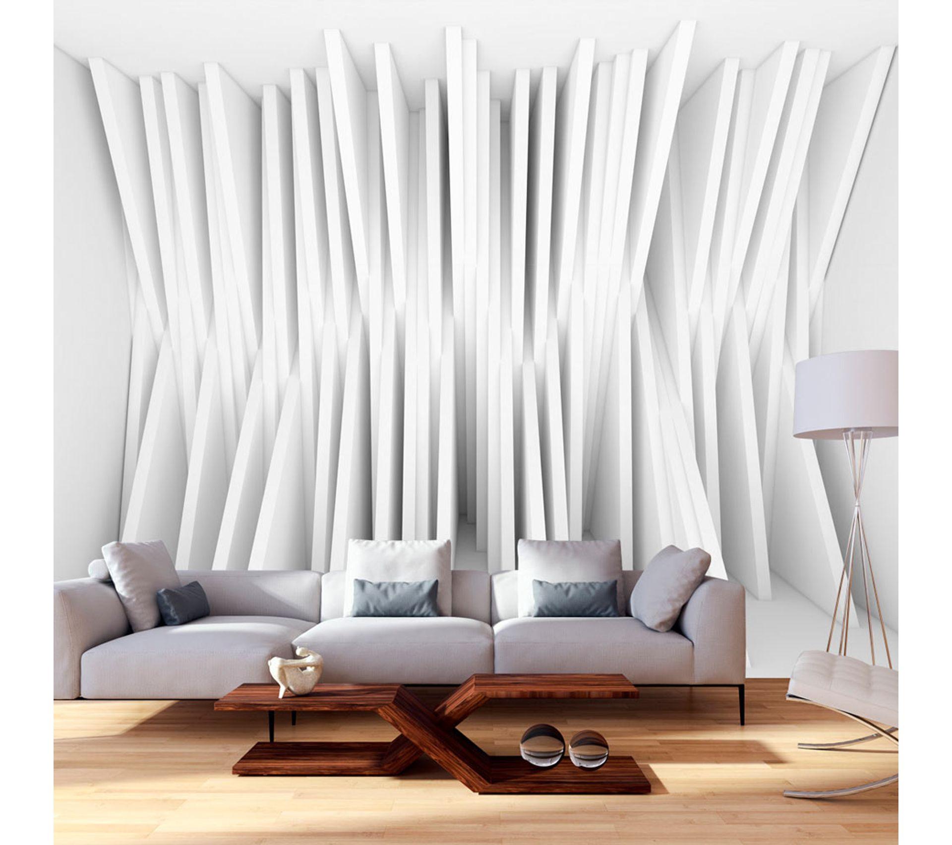 Tapisserie Moderne Pour Chambre Adulte 400x280 papier peint trompe l'oeil 3d et perspective moderne