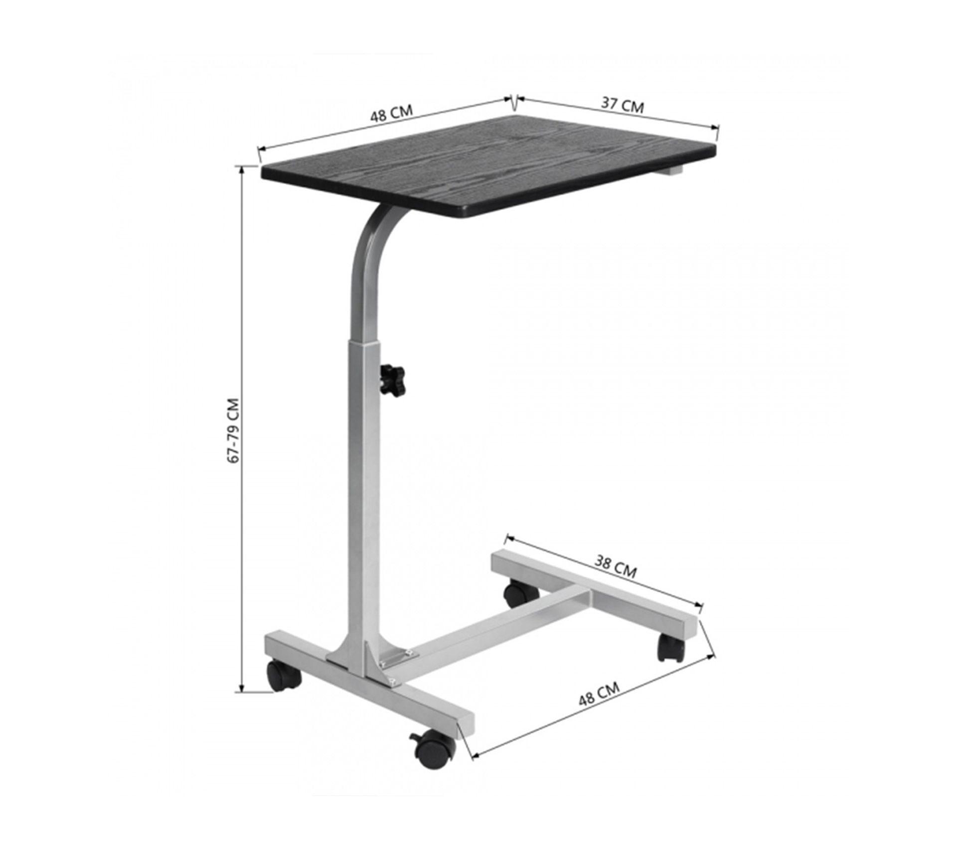 Mettre Des Roulettes Sous Une Table table de lit À roulettes réglable en hauteur