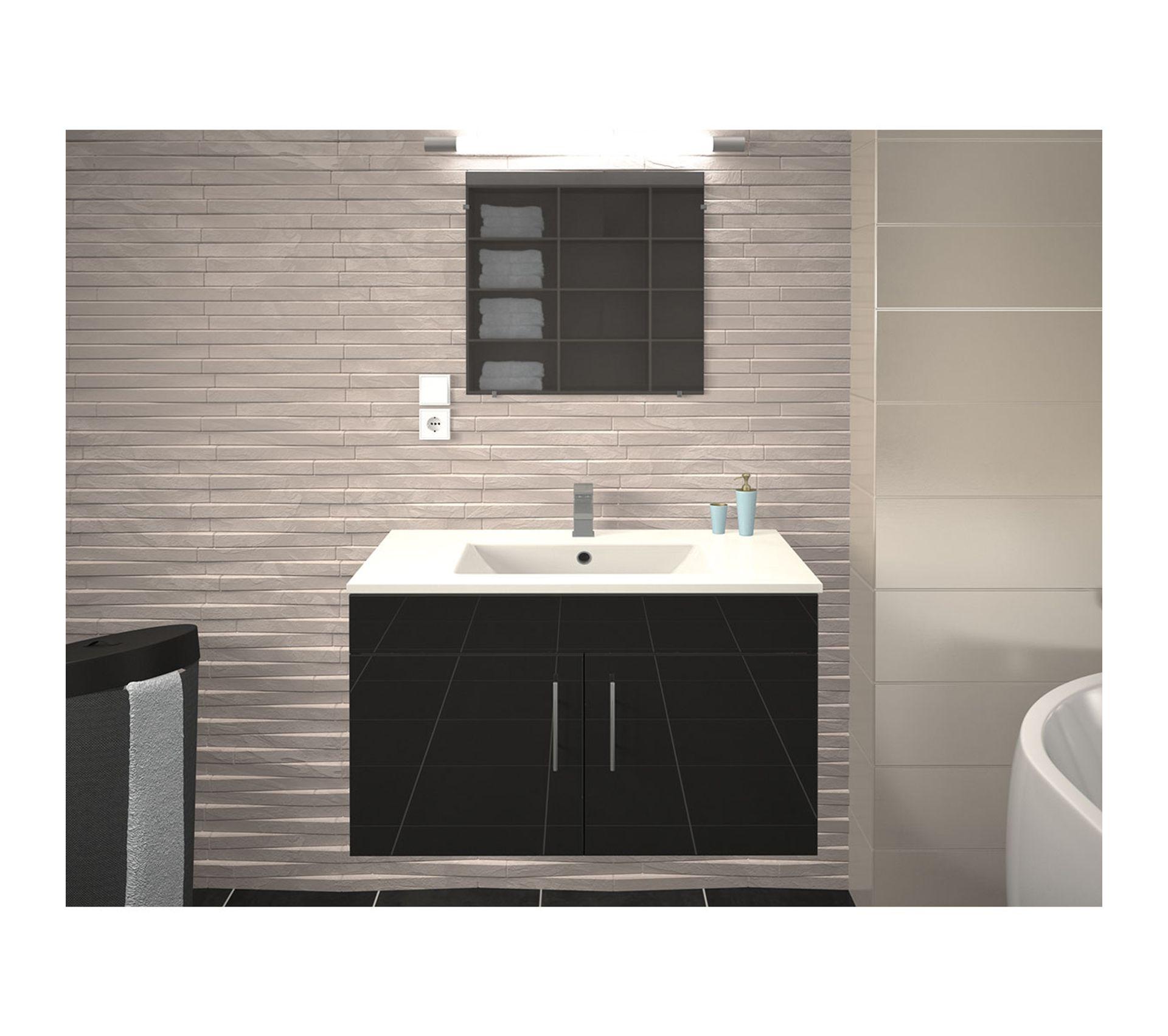 Tablette Salle De Bain 80 Cm vasque et meuble de salle de bain en 80 cm