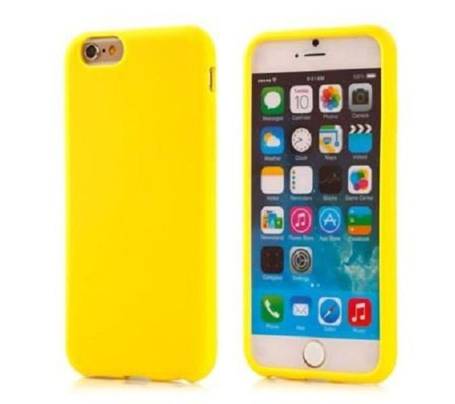 Etui Coque Silicone Tpu Jaune Pour Apple iPhone 5c