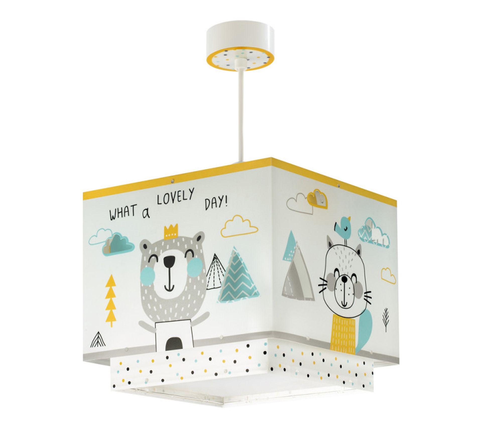 Suspension Pour Chambre Bébé Enfant - Lampe Hello Little