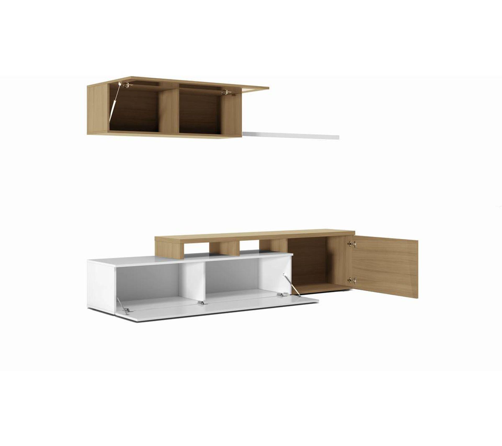 Meuble Haut D Angle Pour Tv ensemble meuble tv dangle ou droit nexia bois et blanc