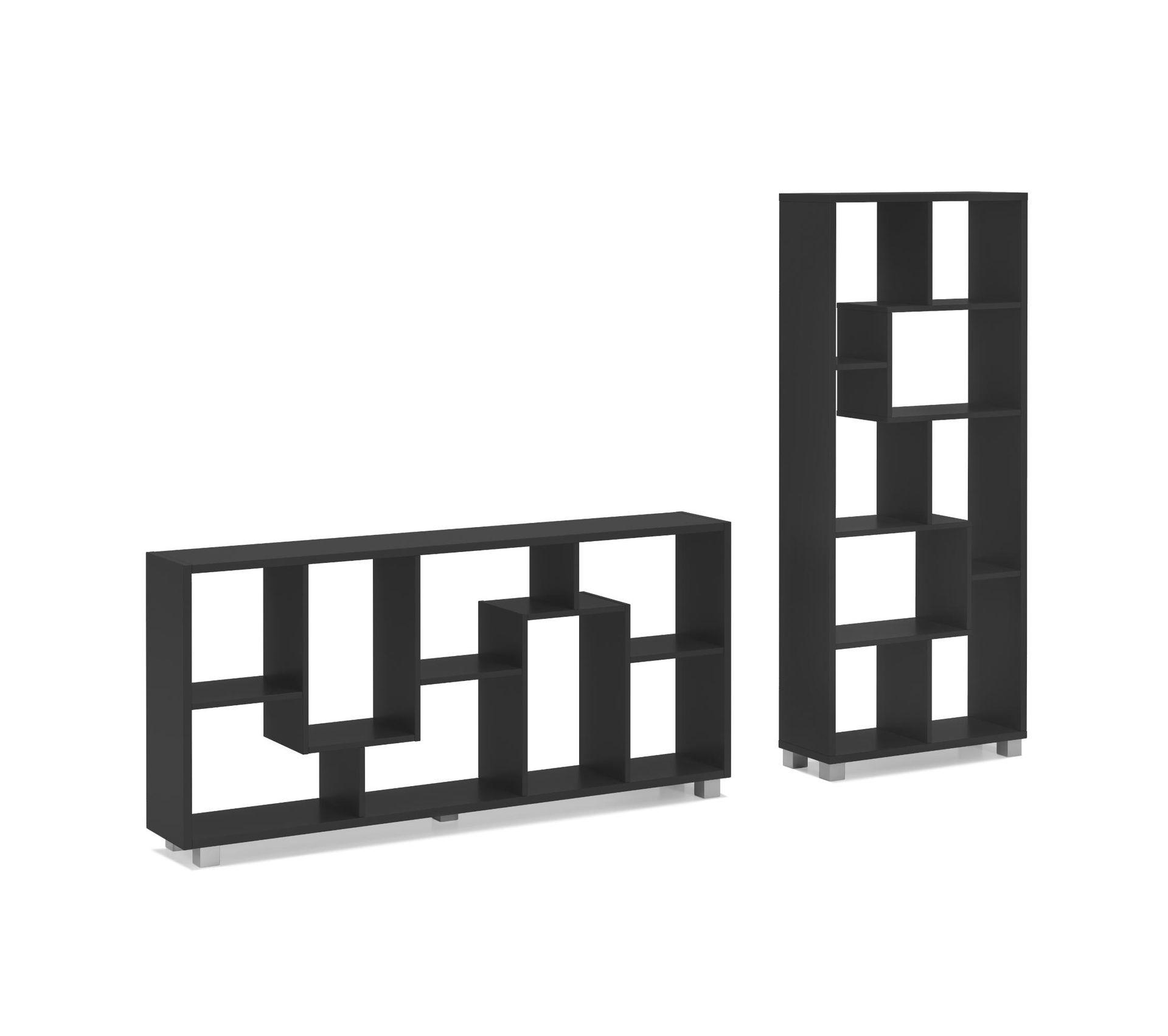Etagere A Poser Sur Plan Travail Étagère bibliothèque,horizontal/vertical.noir